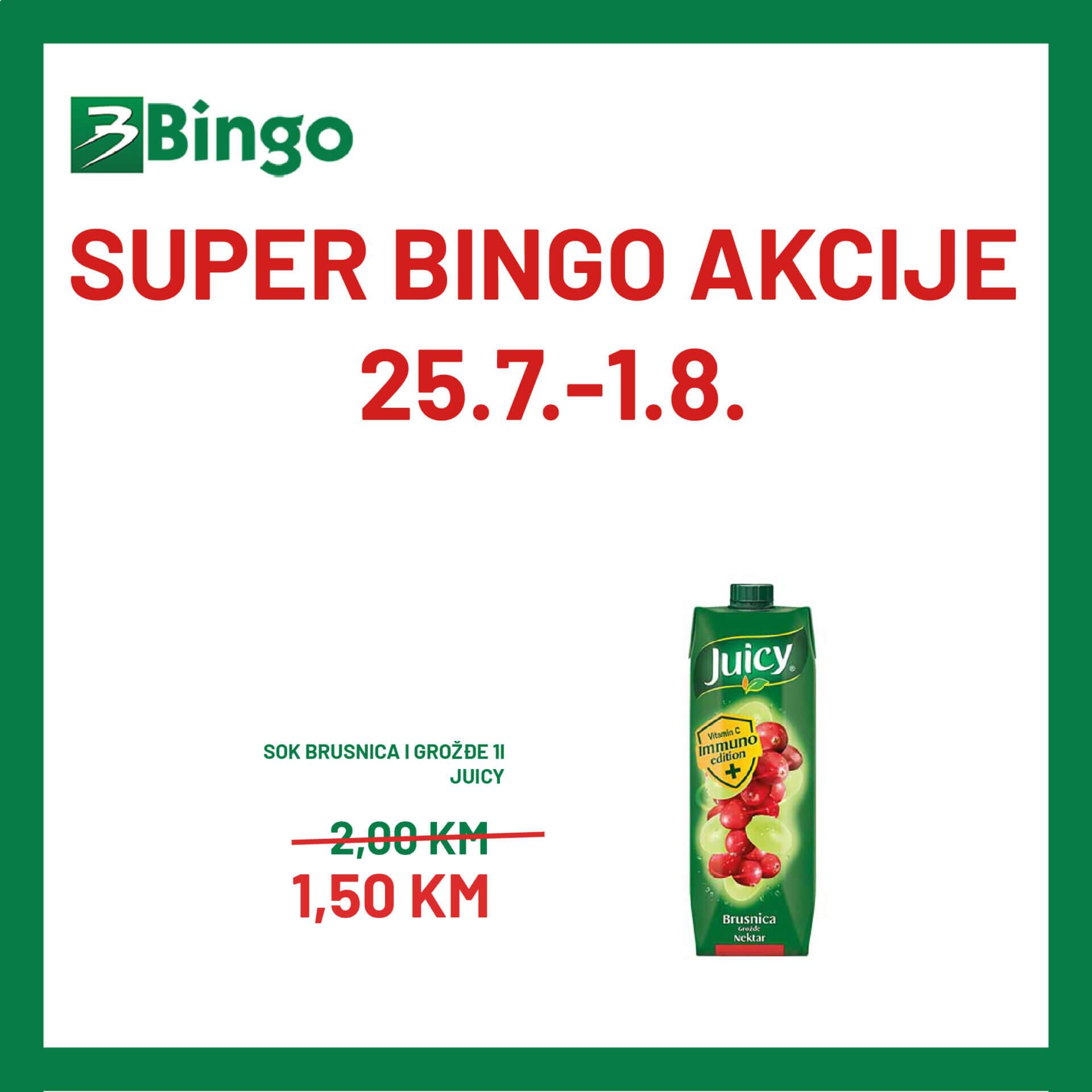 BINGO akcija 25.7. 1.8 02