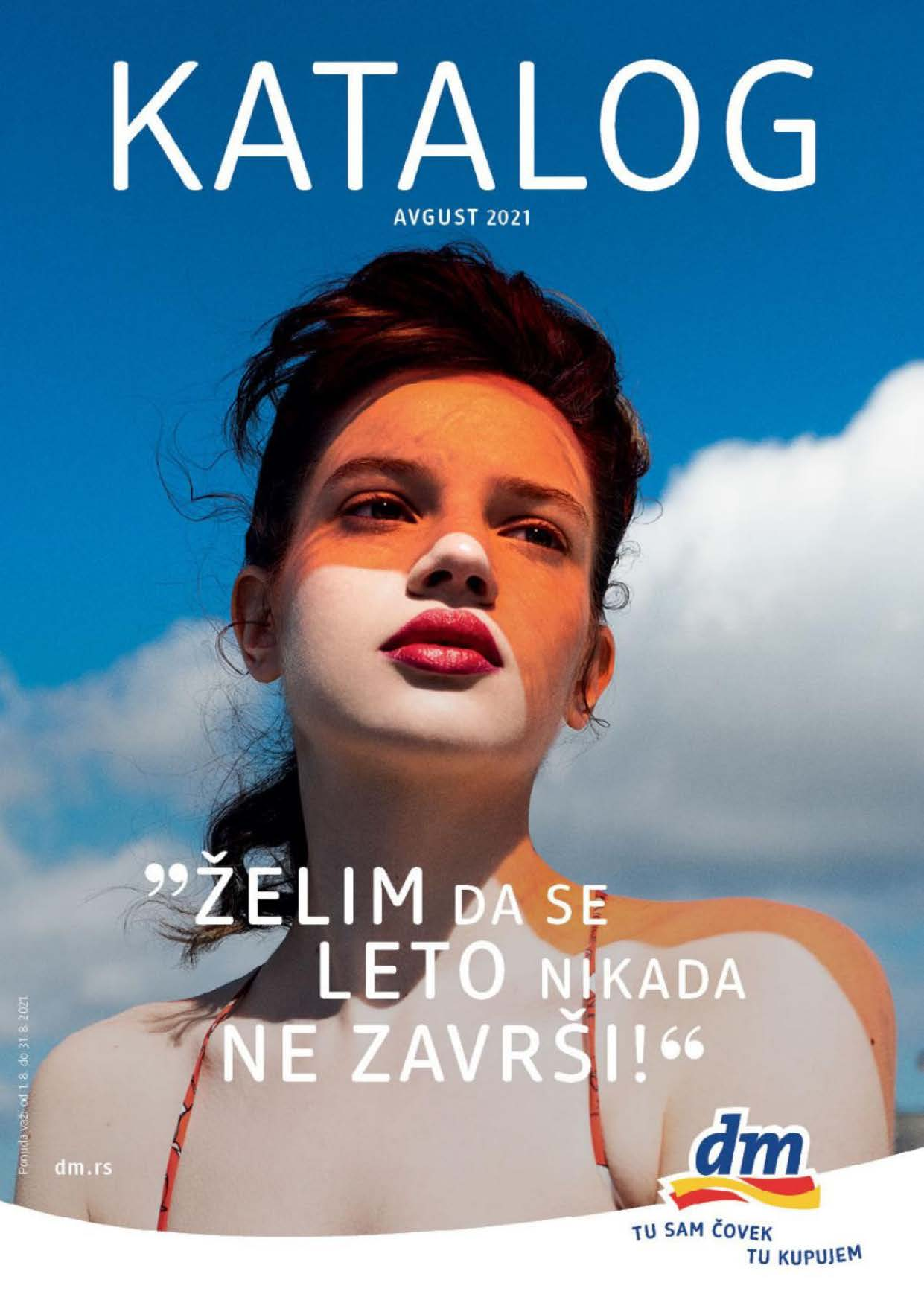DM Katalog Srbija AVGUST 2021 Page 01