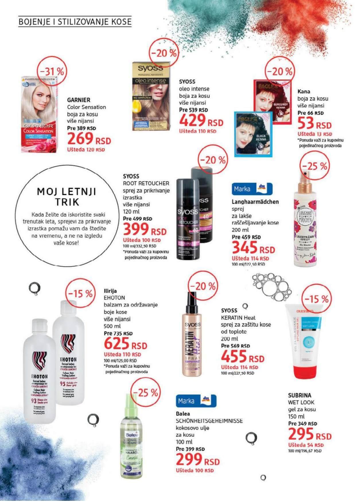 DM Katalog Srbija AVGUST 2021 Page 18