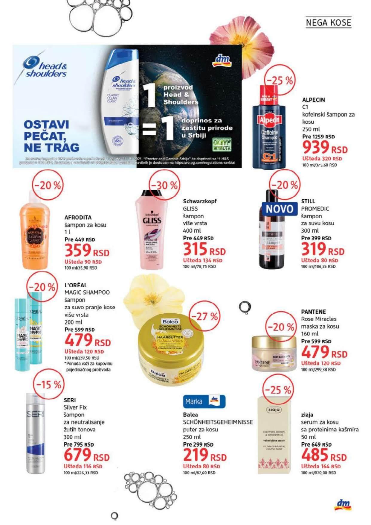 DM Katalog Srbija AVGUST 2021 Page 19