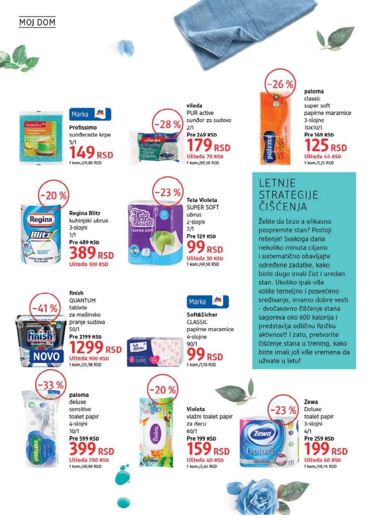 DM Katalog Srbija AVGUST 2021 Page 36