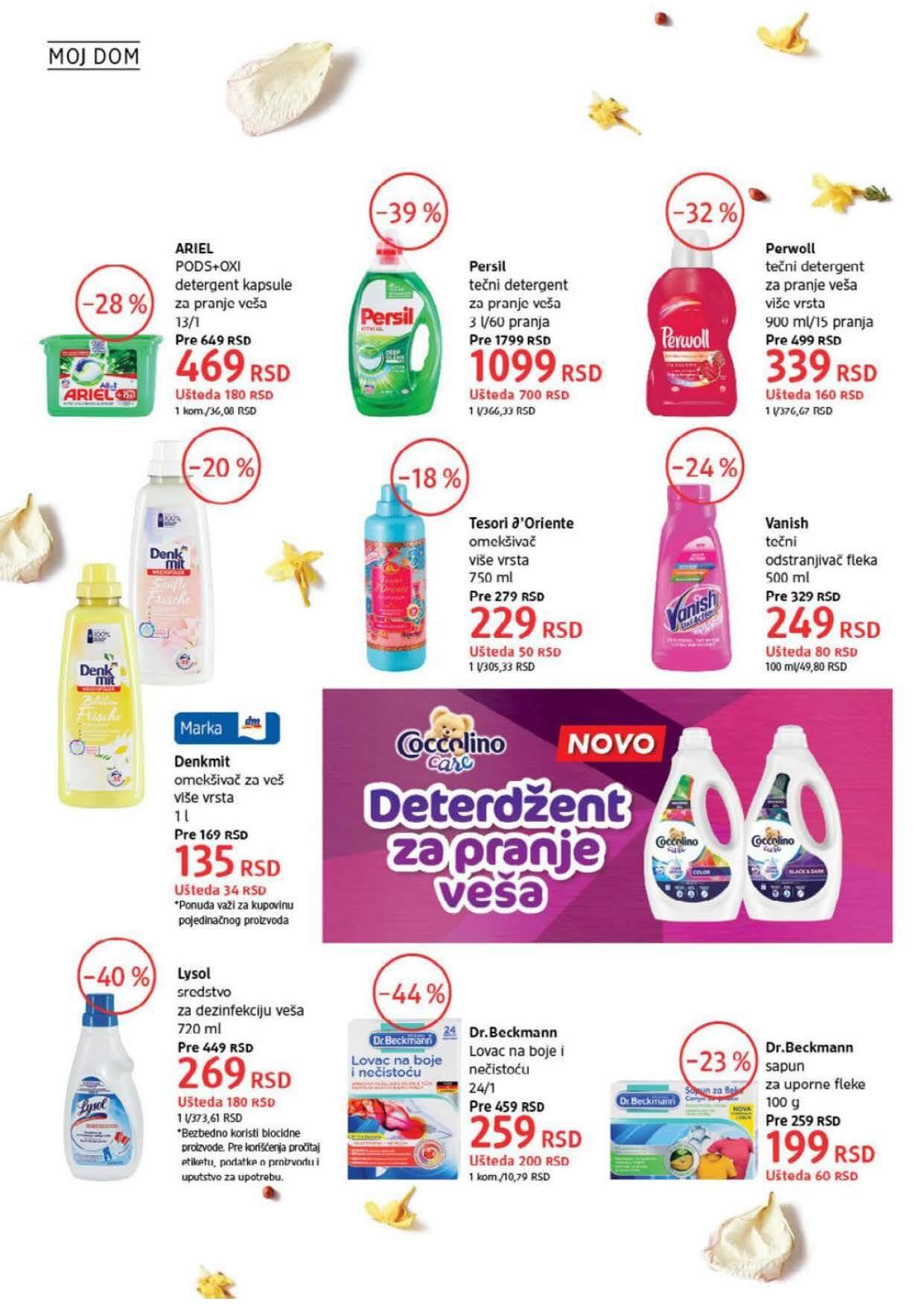 DM Katalog Srbija AVGUST 2021 Page 38
