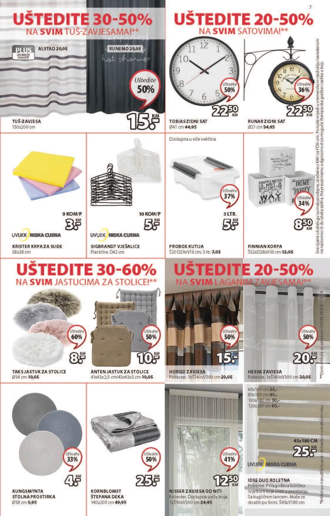 JYSK Katalog Akcijska rasprodaja JUL 2021 15.7.2021. 29.7.2021. Page 8