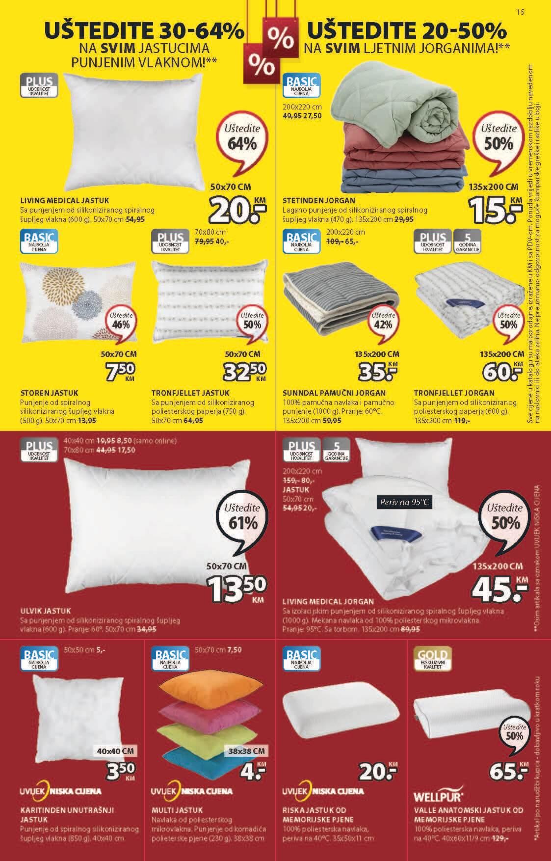 JYSK Katalog Ljetna rasprodaja JUL 2021 8.7.2021. 21.7.2021. Page 16