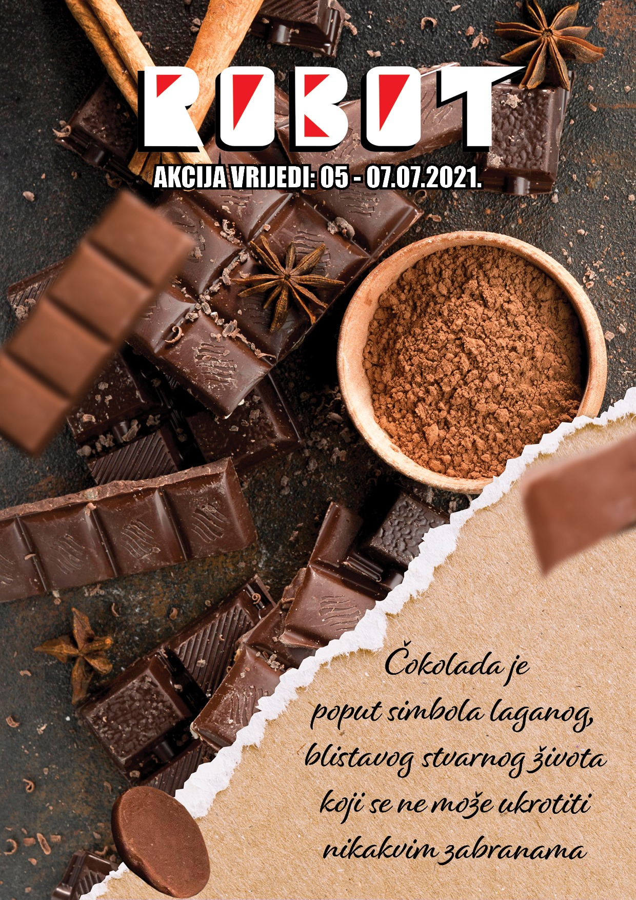 ROBOT Katalog Dani cokolade JUL 2021 5.7.2021. 7.7.2021 1
