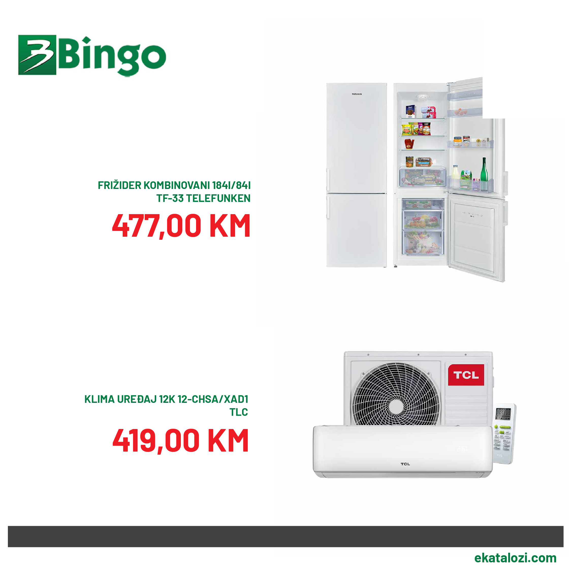 BINGO Akcija niske cijene 10.8.2021. 15.8.2021 2