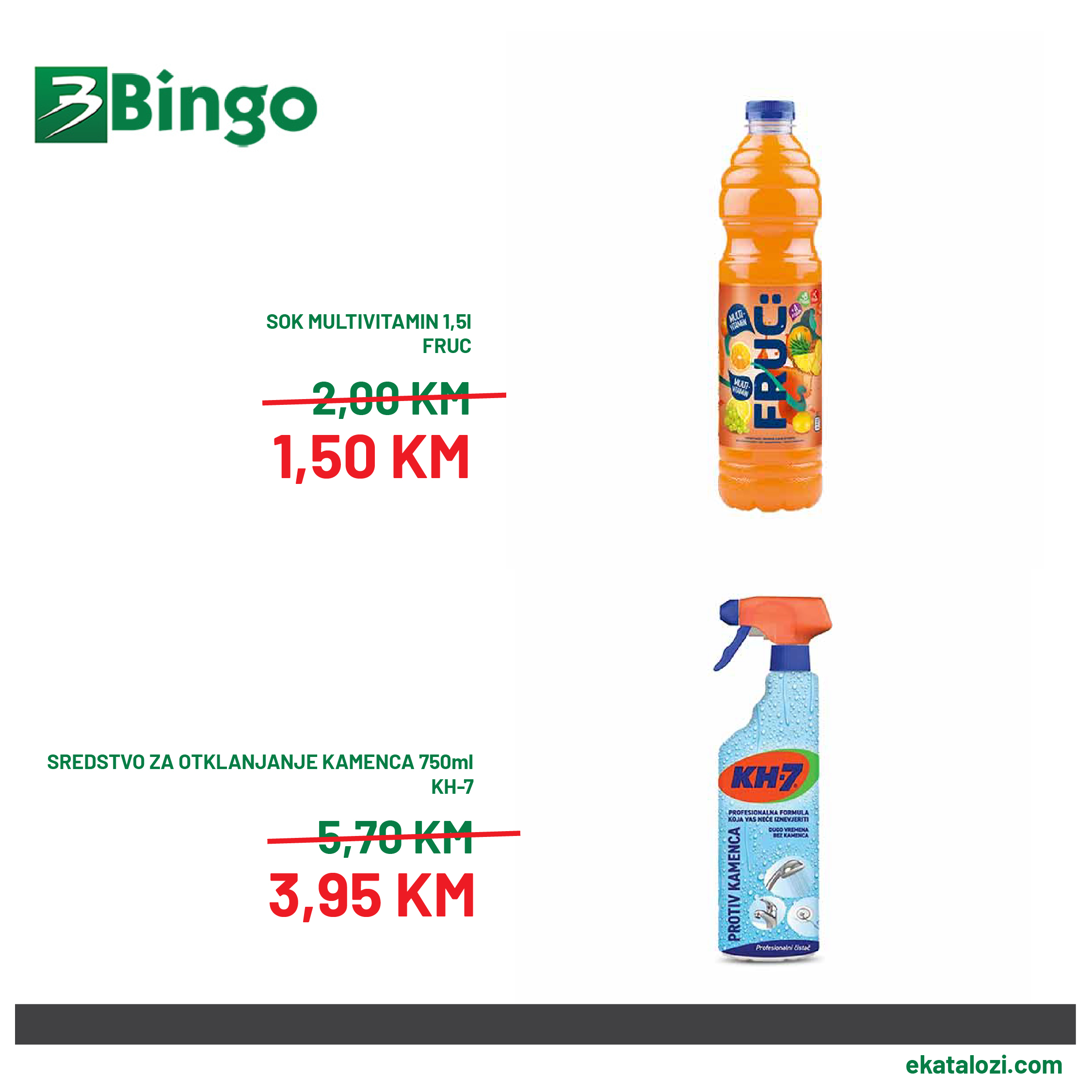 BINGO Akcija niske cijene 10.8.2021. 15.8.2021 3