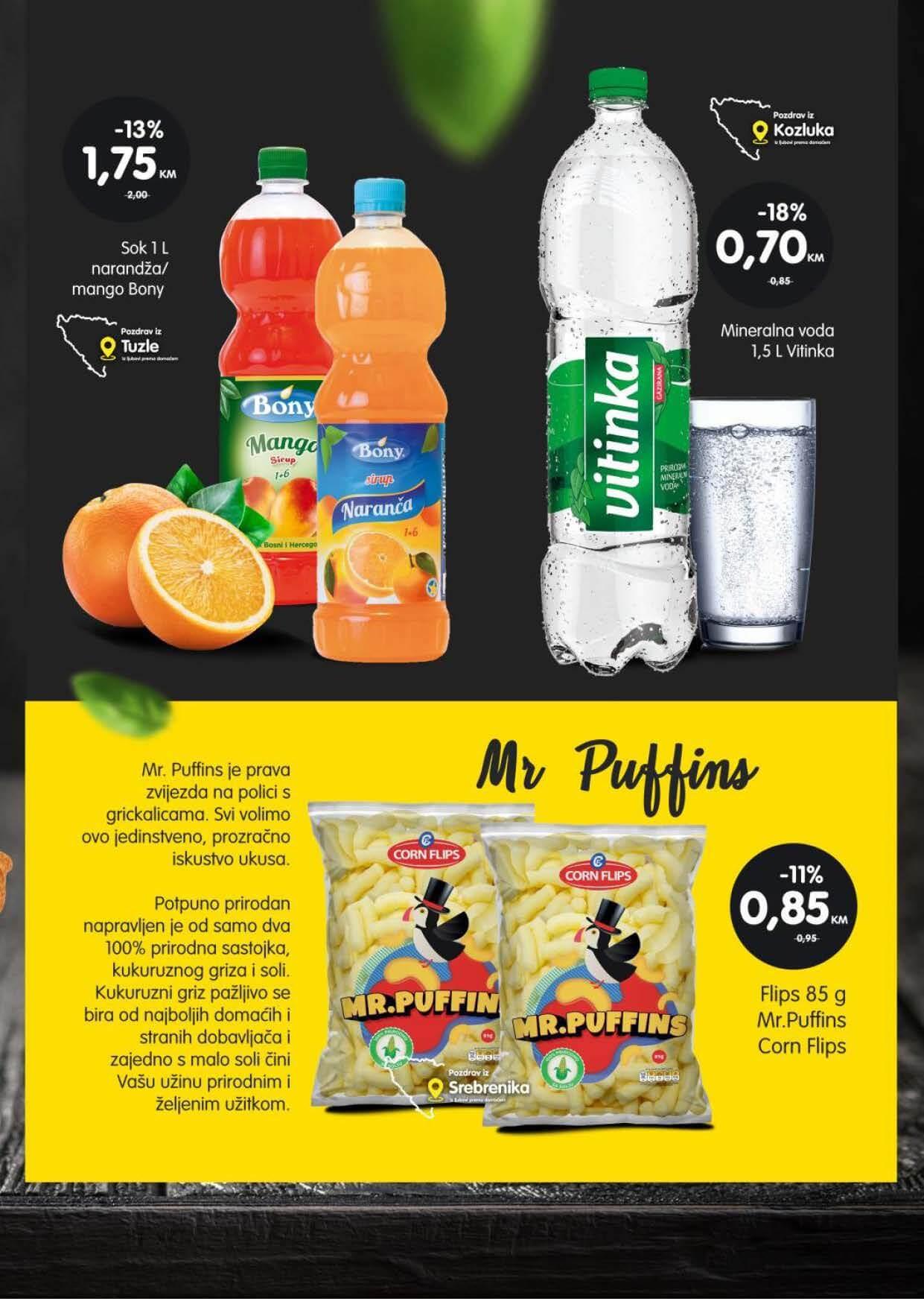BINGO Kupuj pametno Kupuj domace AVGUST 2021 2.8.2021. 8.8.2021. Page 09