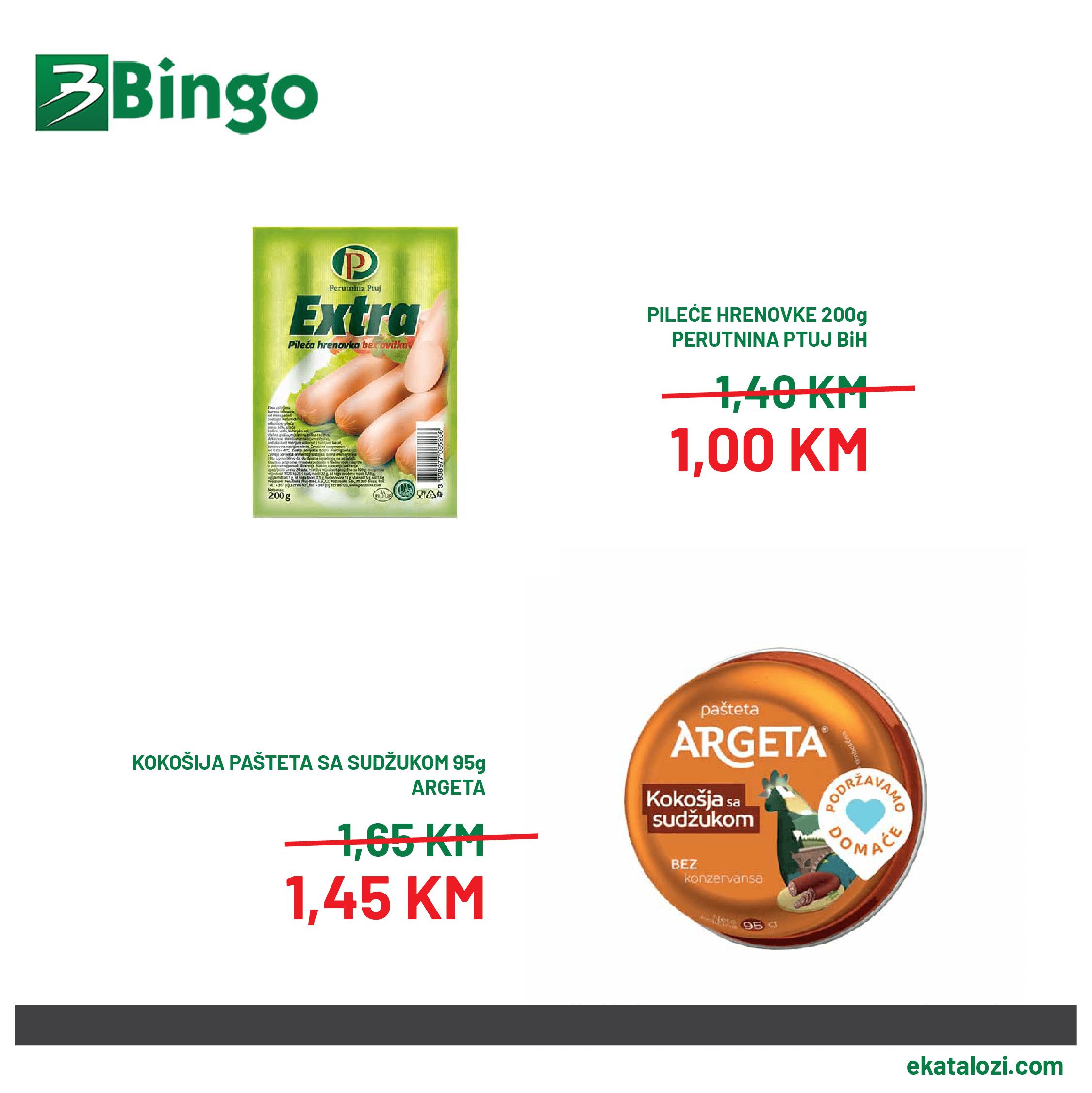 BINGO Super akcija AVGUST 2021 20.8.2021. 22.08.2021 2