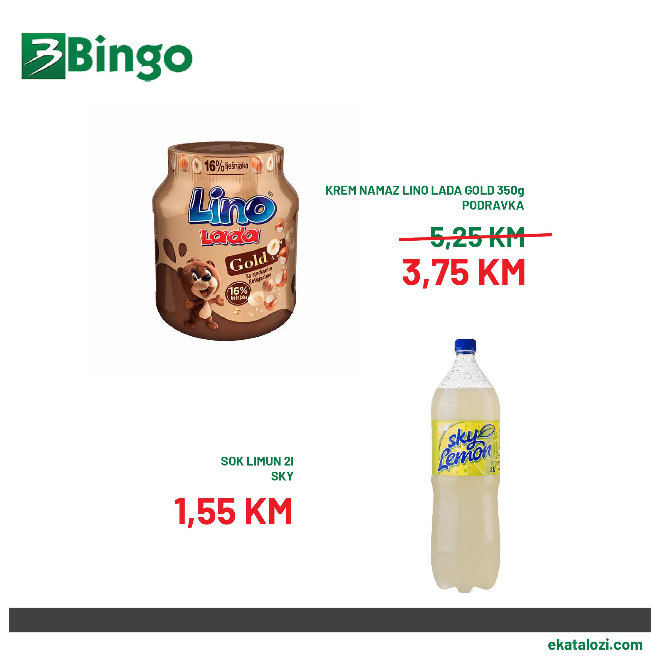 BINGO Super akcija AVGUST 2021 20.8.2021. 22.08.2021 3