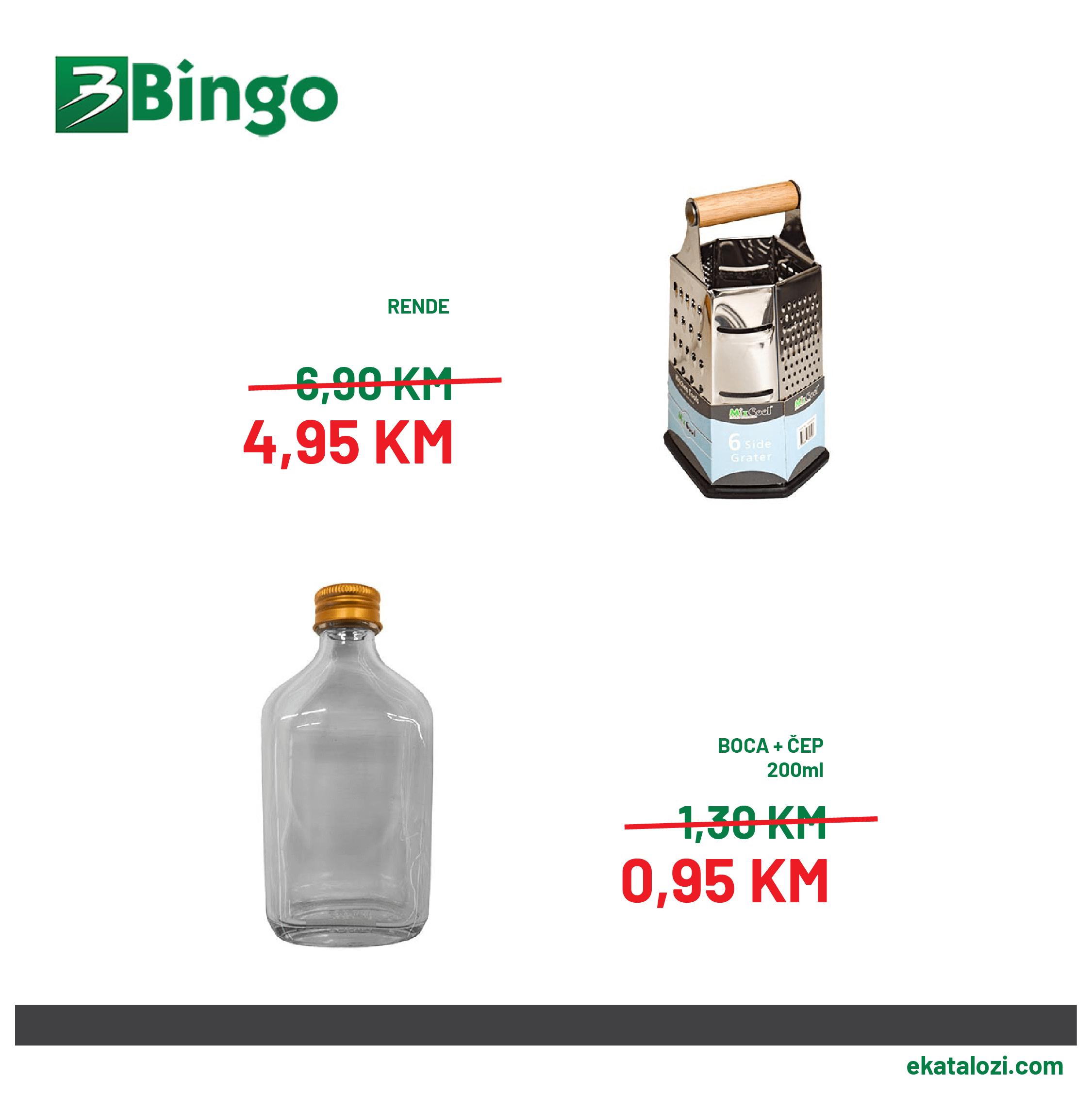 BINGO Super akcija AVGUST 2021 24.8.2021. 26.8.2021 2