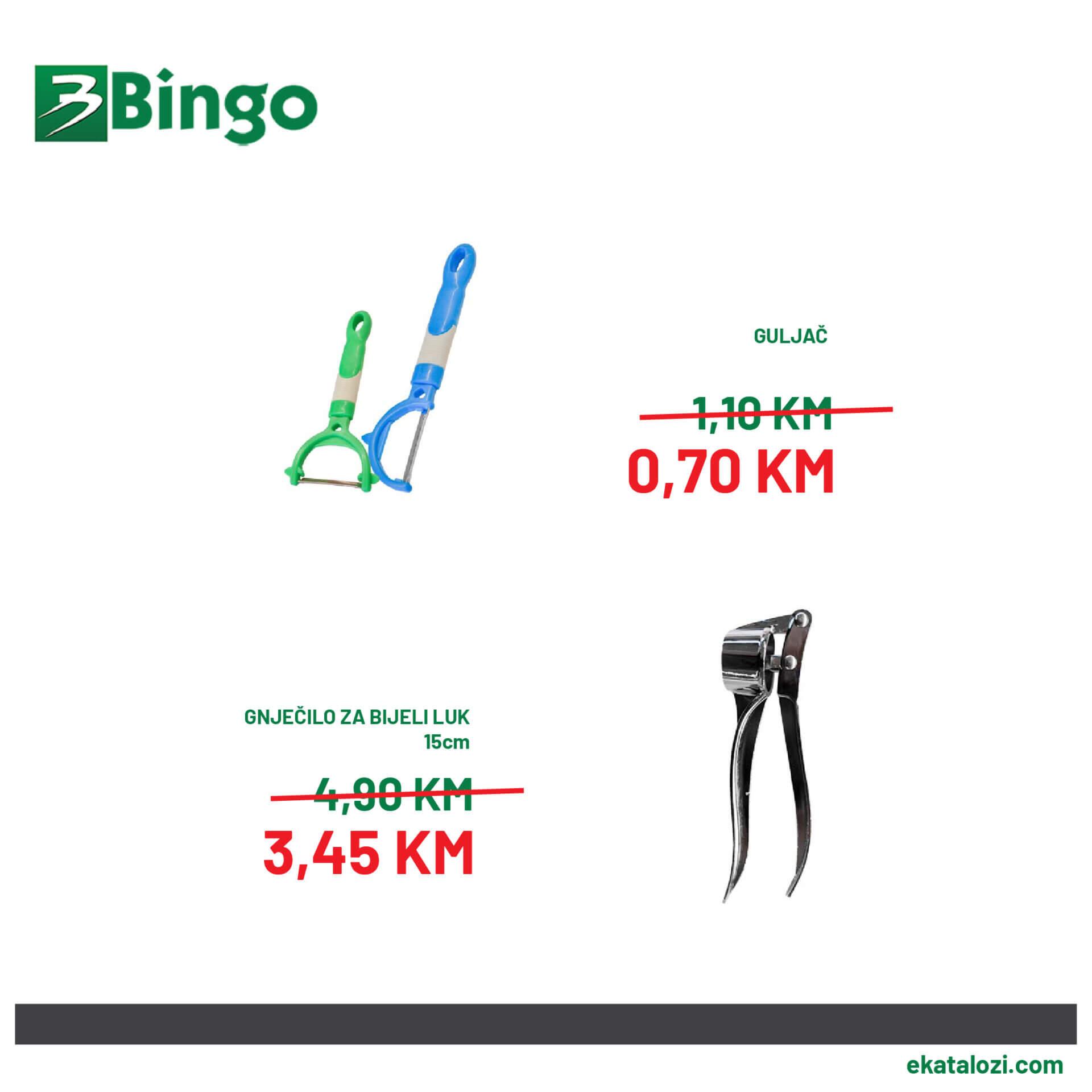 BINGO Super akcija AVGUST 2021 28.8.2021. 30.8.2021 2