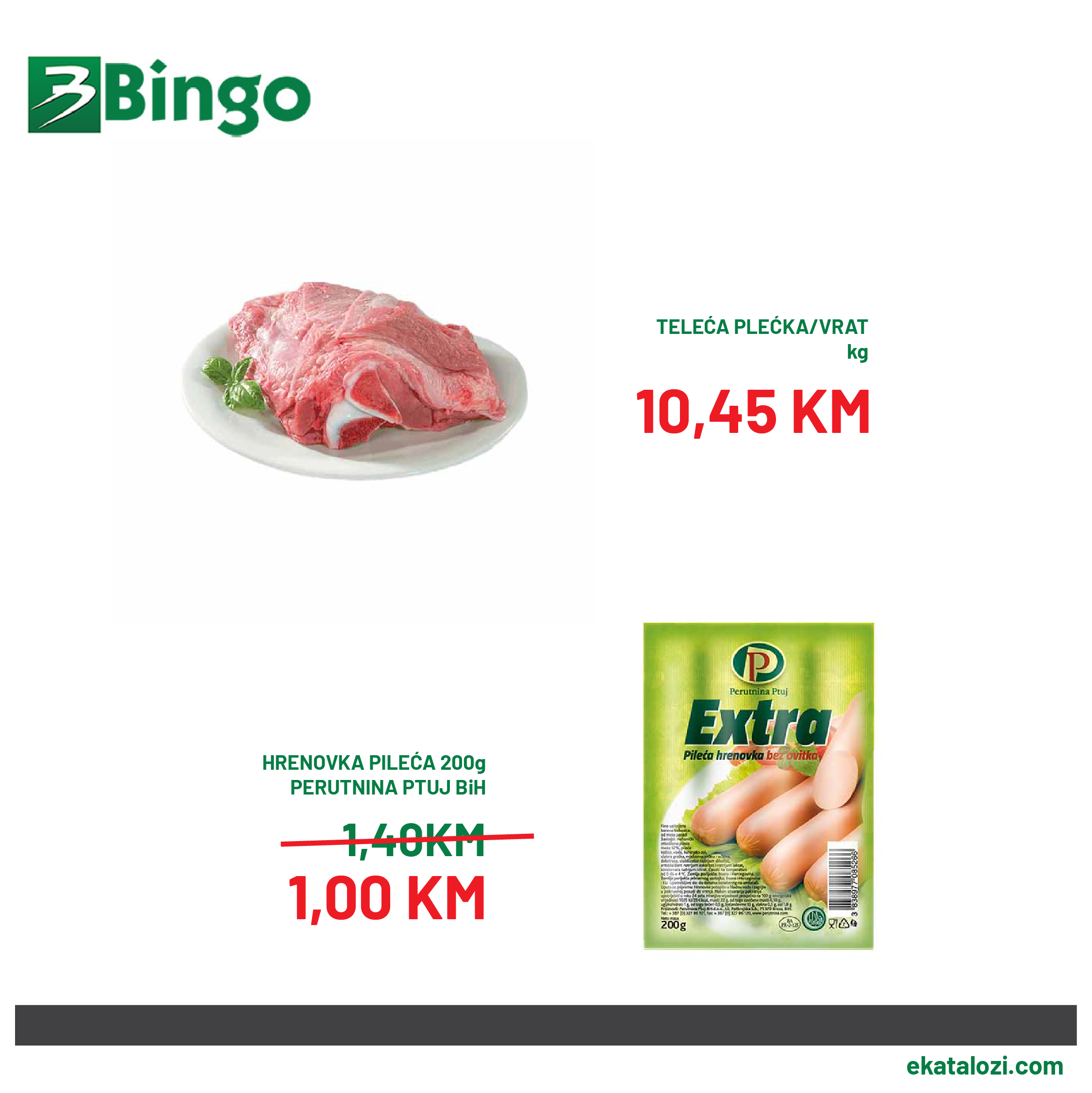 BINGO Super akcija AVGUST 22.8.2021. 25.8.2021 2