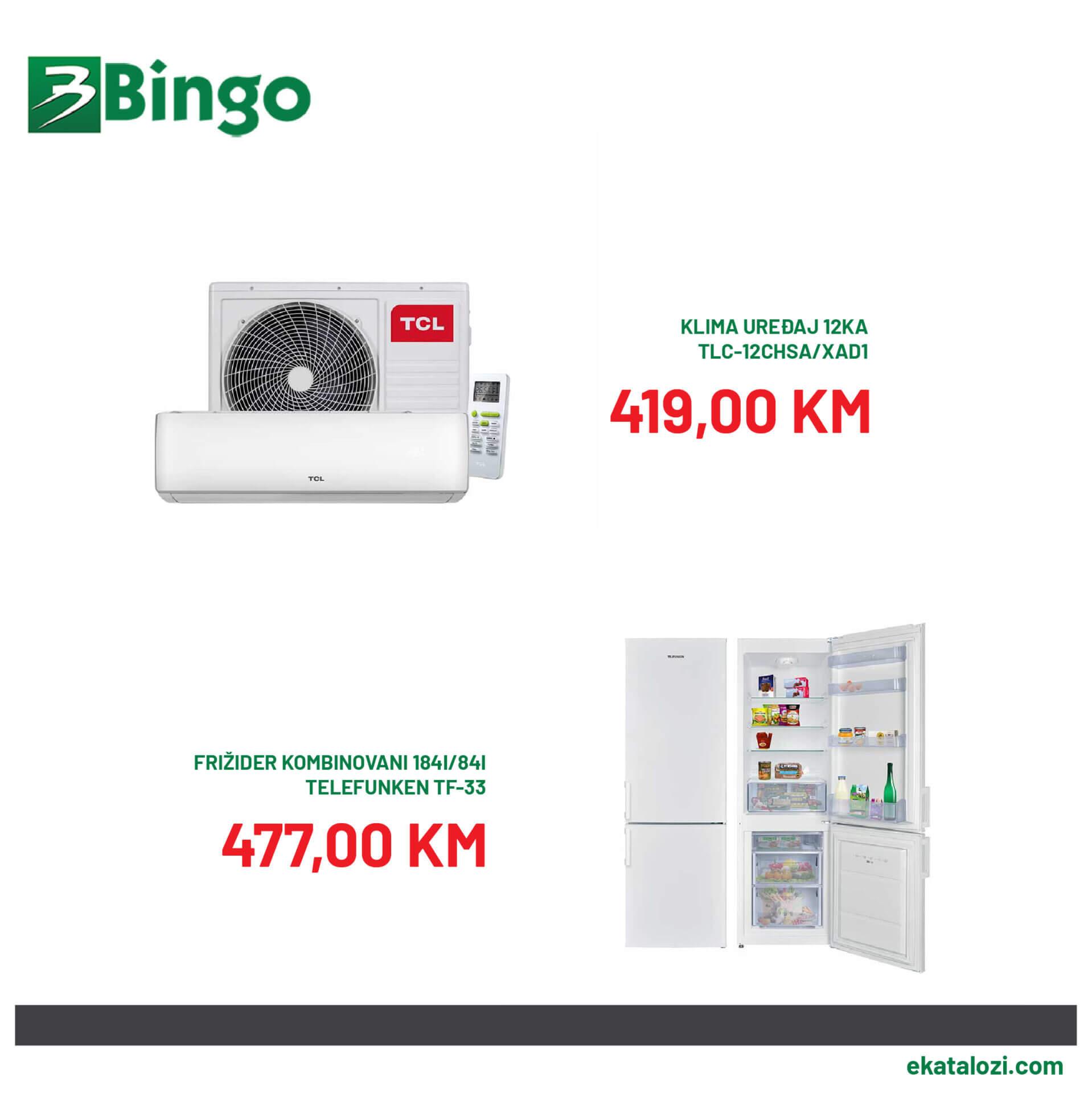 BINGO Super akcija AVGUST 22.8.2021. 25.8.2021 3