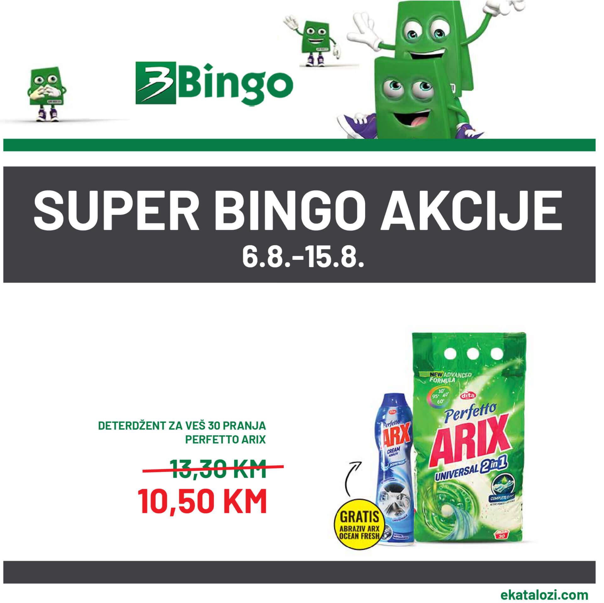 Bingo akcija 6.8. 15.8. 01 1