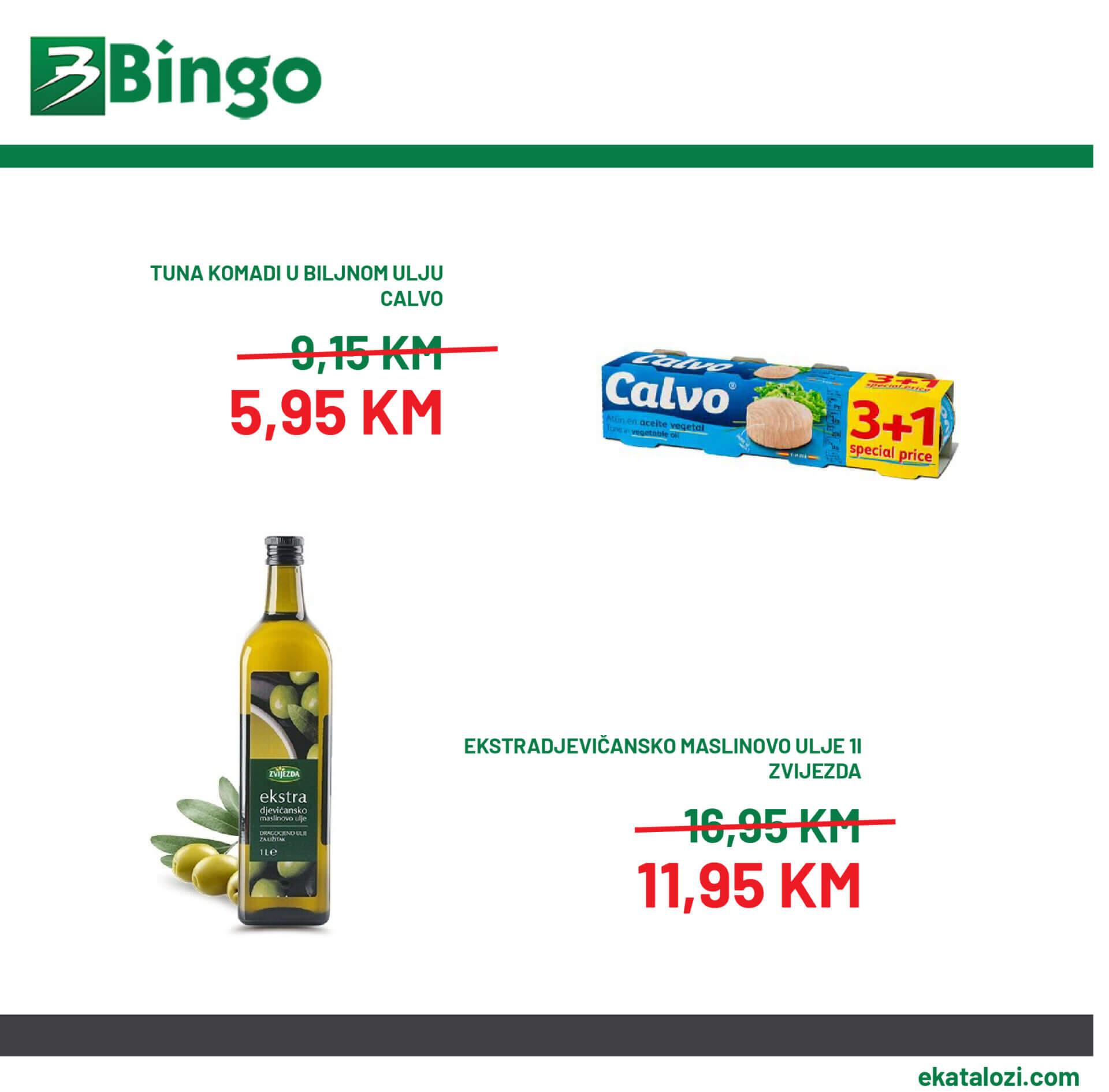 Bingo akcija 6.8. 15.8. 02