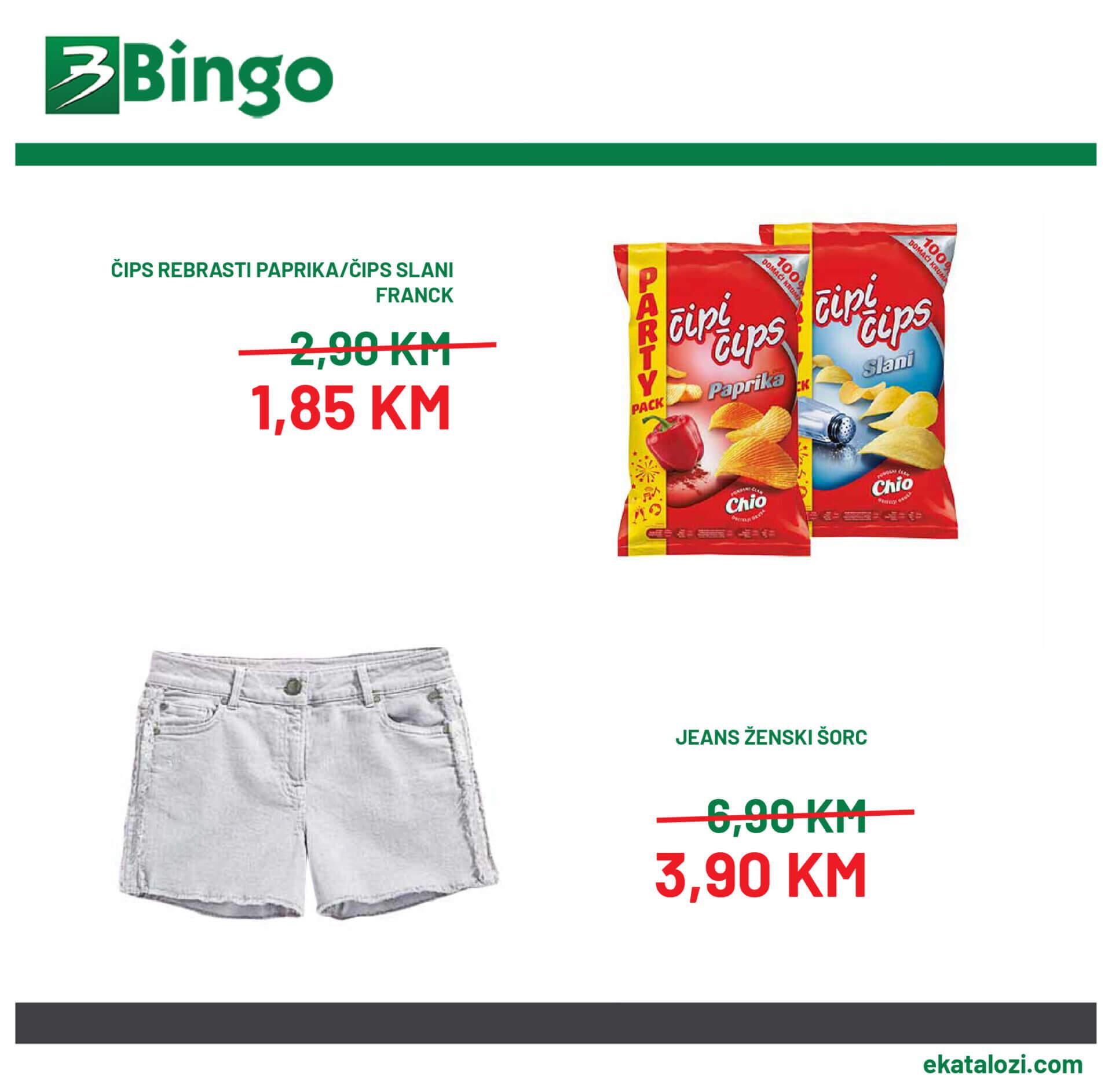 Bingo akcija 6.8. 15.8. 03