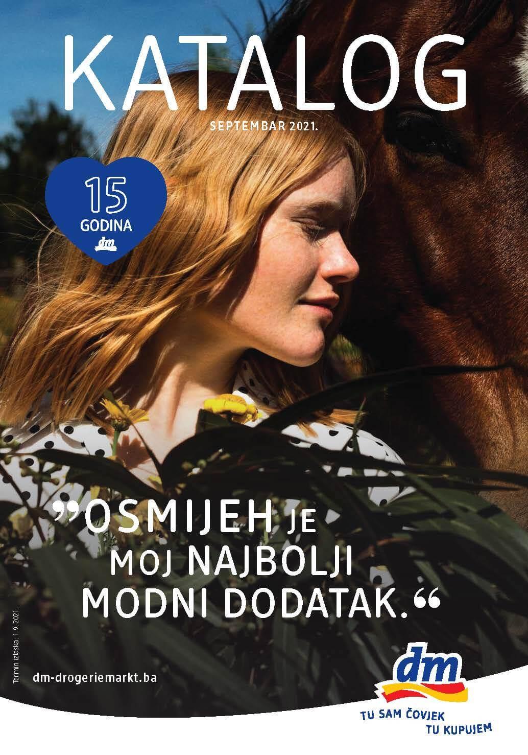 DM Katalog BiH SEPTEMBAR 2021 1.9.2021. 14.9.2021. Page 01 1
