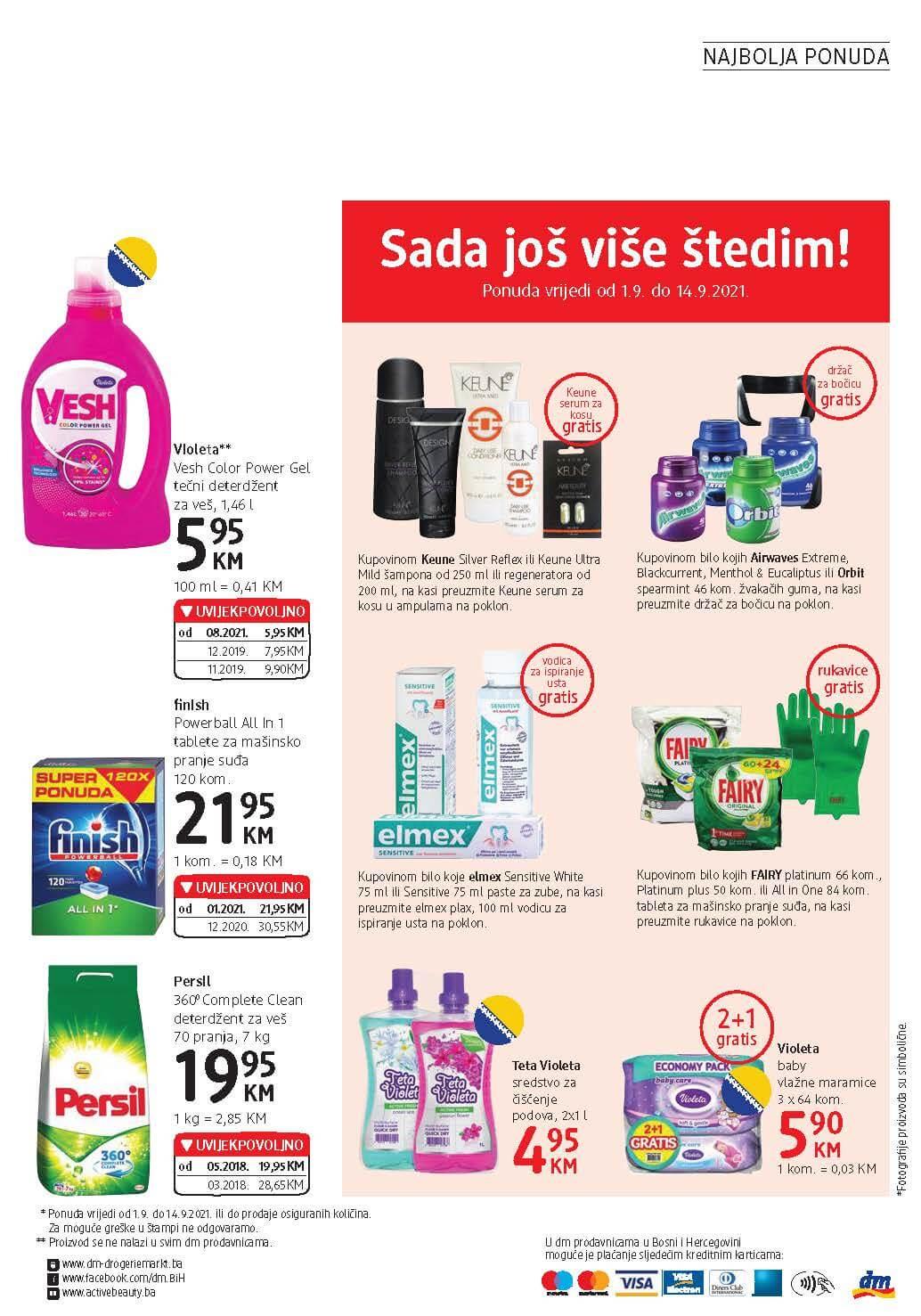 DM Katalog BiH SEPTEMBAR 2021 1.9.2021. 14.9.2021. Page 24