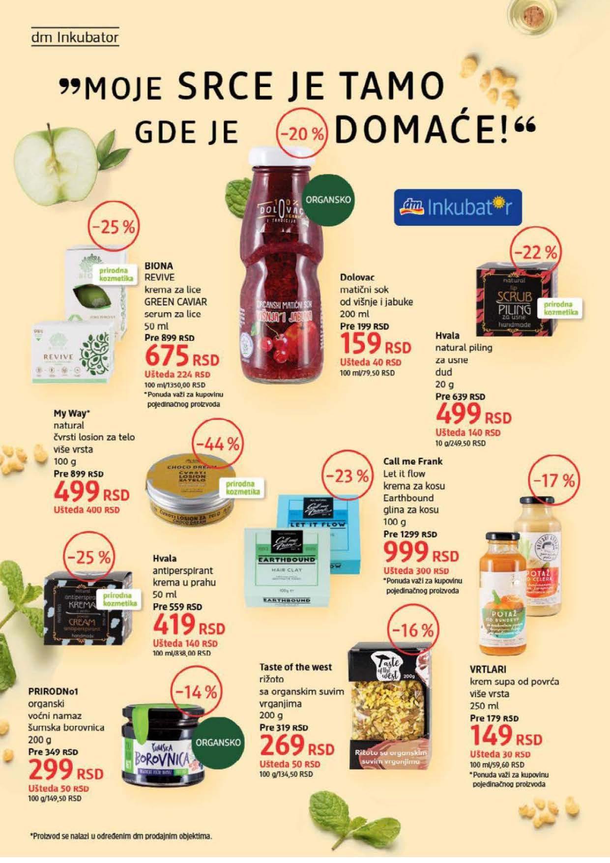 DM Katalog Srbija SEPTEMBAR 2021 1.9.2021. 30.9.2021. Page 10