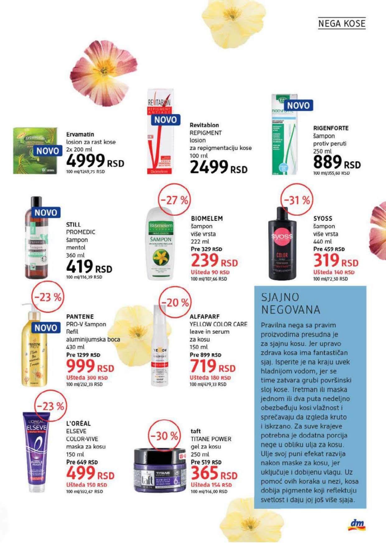 DM Katalog Srbija SEPTEMBAR 2021 1.9.2021. 30.9.2021. Page 19