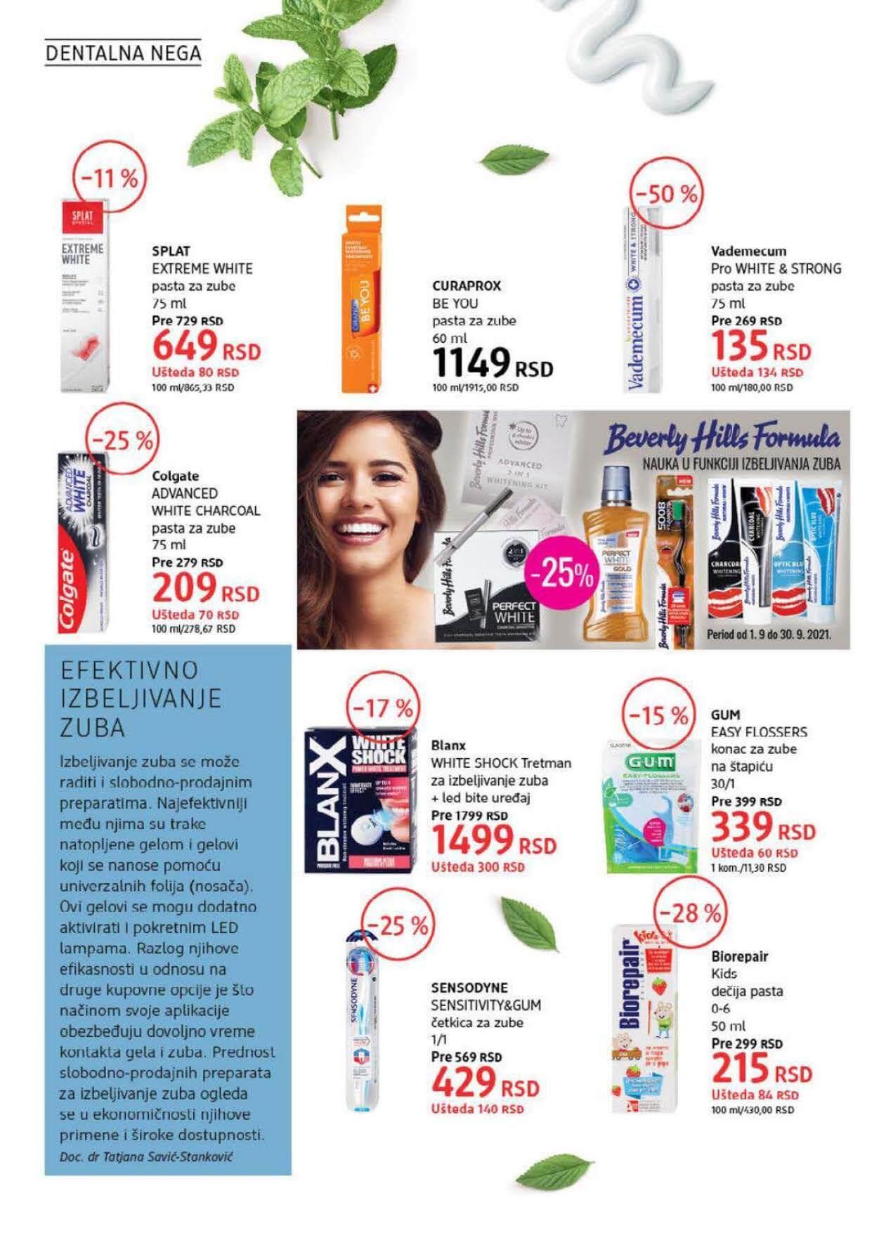 DM Katalog Srbija SEPTEMBAR 2021 1.9.2021. 30.9.2021. Page 20