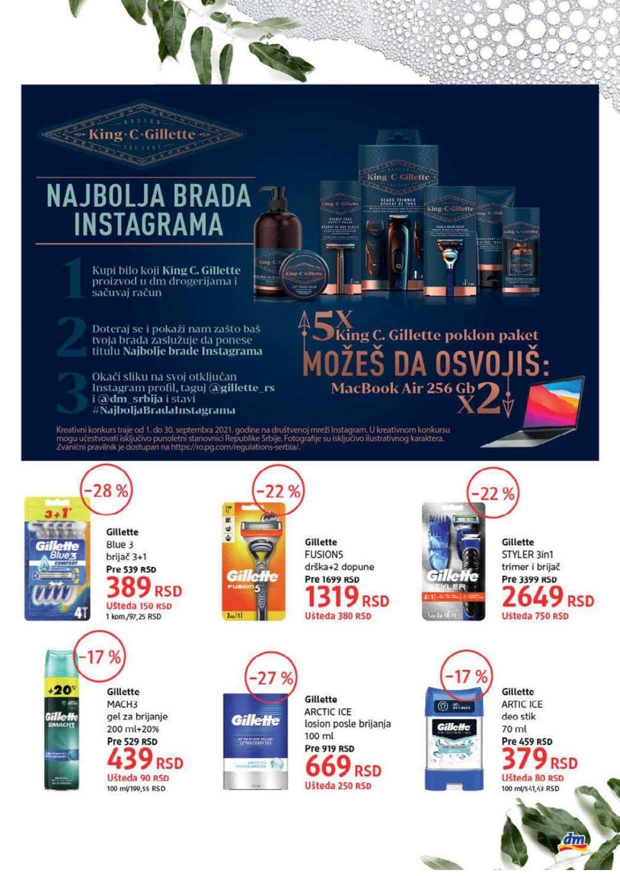 DM Katalog Srbija SEPTEMBAR 2021 1.9.2021. 30.9.2021. Page 21