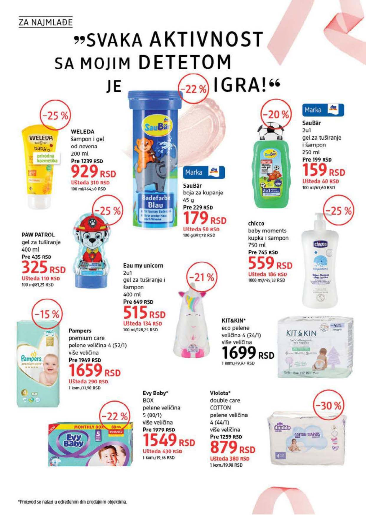 DM Katalog Srbija SEPTEMBAR 2021 1.9.2021. 30.9.2021. Page 28