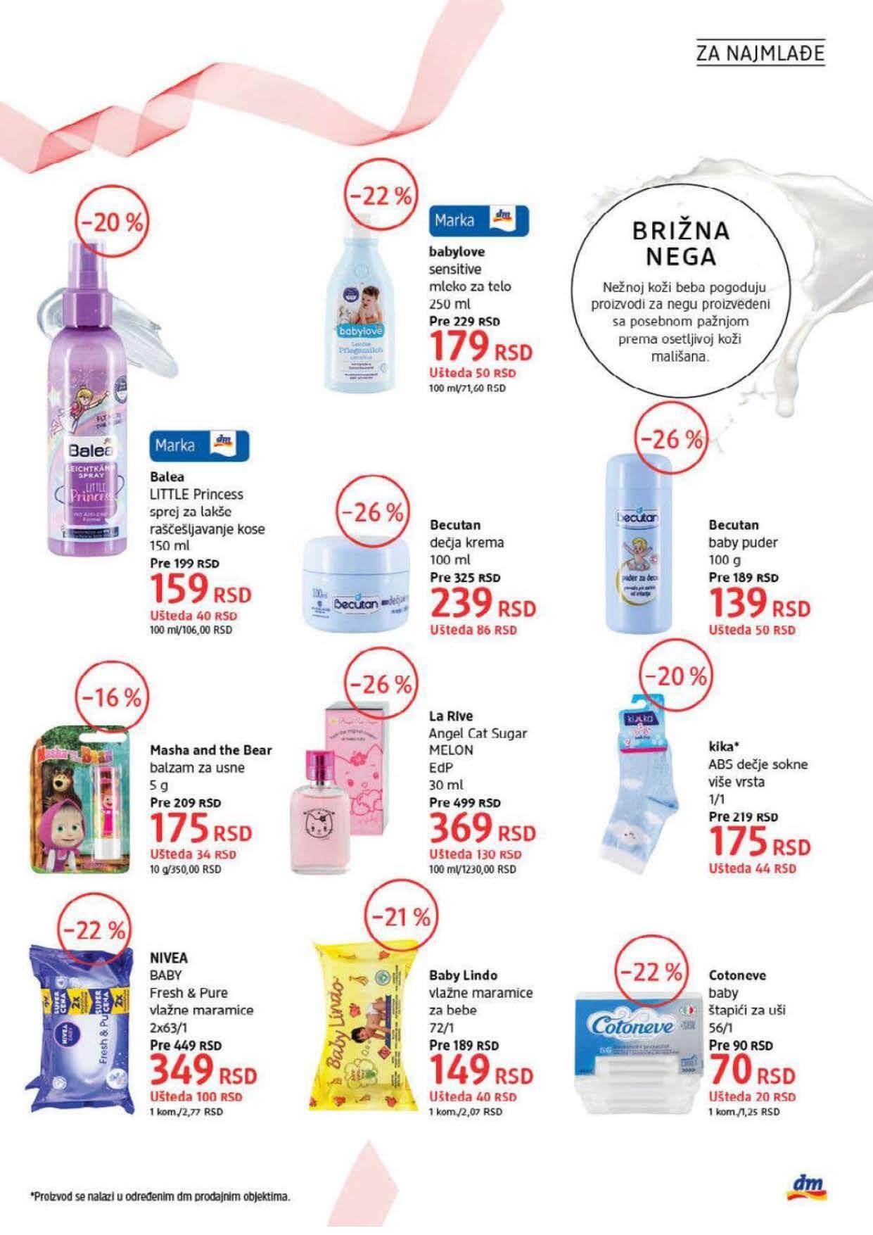 DM Katalog Srbija SEPTEMBAR 2021 1.9.2021. 30.9.2021. Page 29