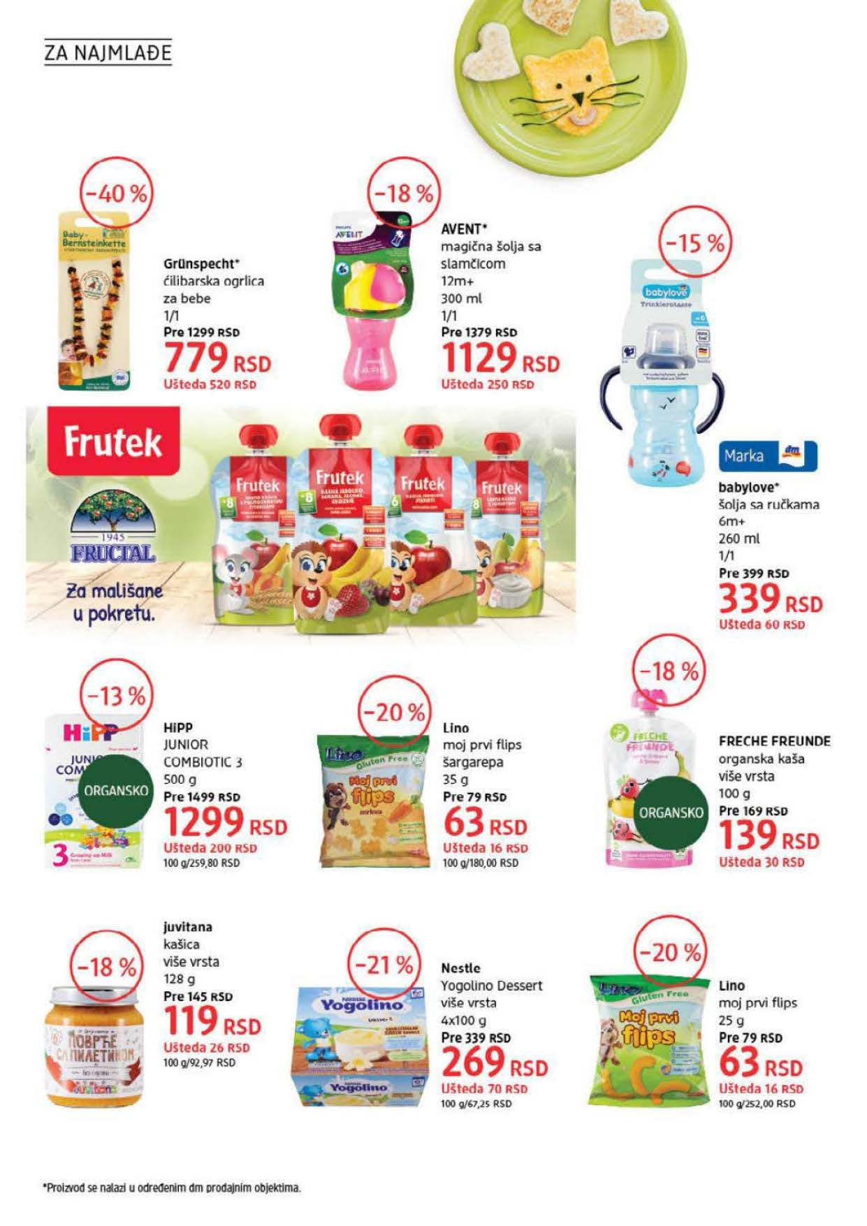 DM Katalog Srbija SEPTEMBAR 2021 1.9.2021. 30.9.2021. Page 30