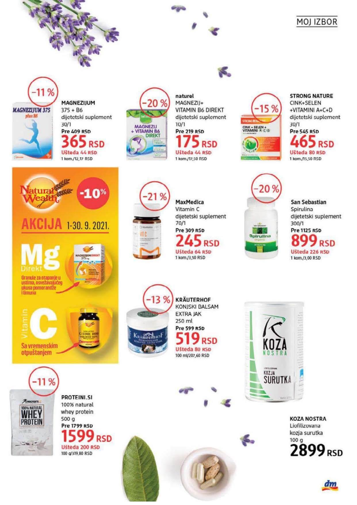 DM Katalog Srbija SEPTEMBAR 2021 1.9.2021. 30.9.2021. Page 31