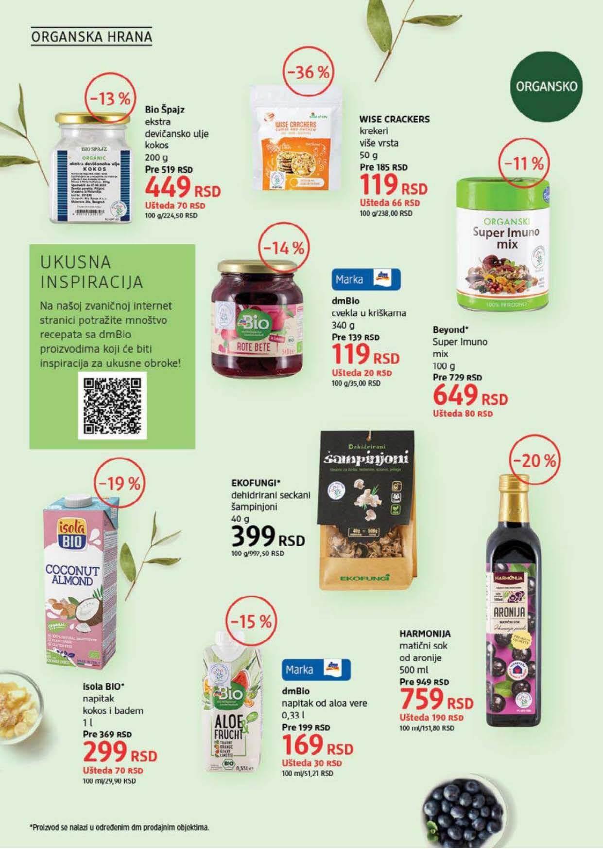 DM Katalog Srbija SEPTEMBAR 2021 1.9.2021. 30.9.2021. Page 34