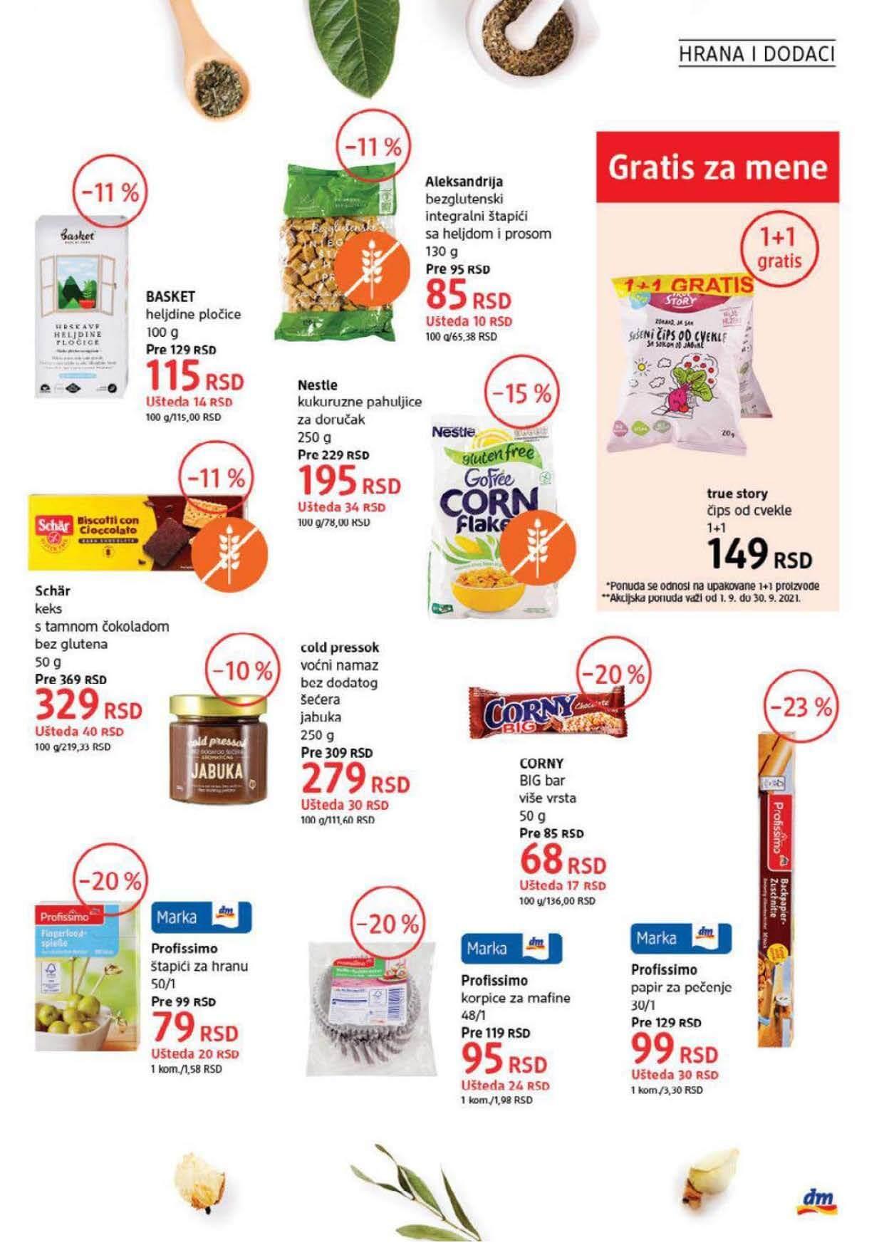 DM Katalog Srbija SEPTEMBAR 2021 1.9.2021. 30.9.2021. Page 35