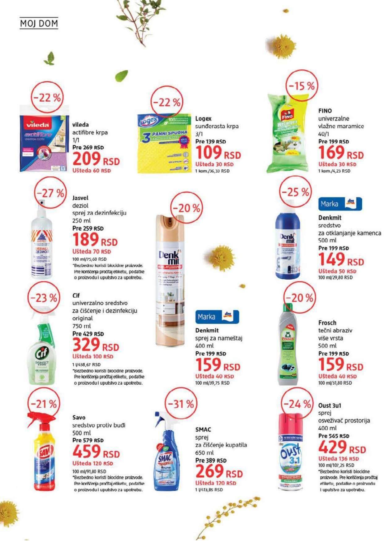 DM Katalog Srbija SEPTEMBAR 2021 1.9.2021. 30.9.2021. Page 36