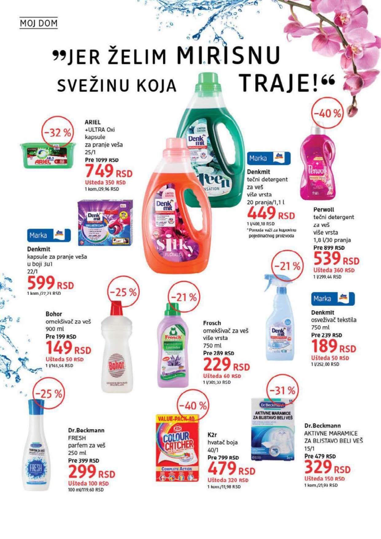 DM Katalog Srbija SEPTEMBAR 2021 1.9.2021. 30.9.2021. Page 38