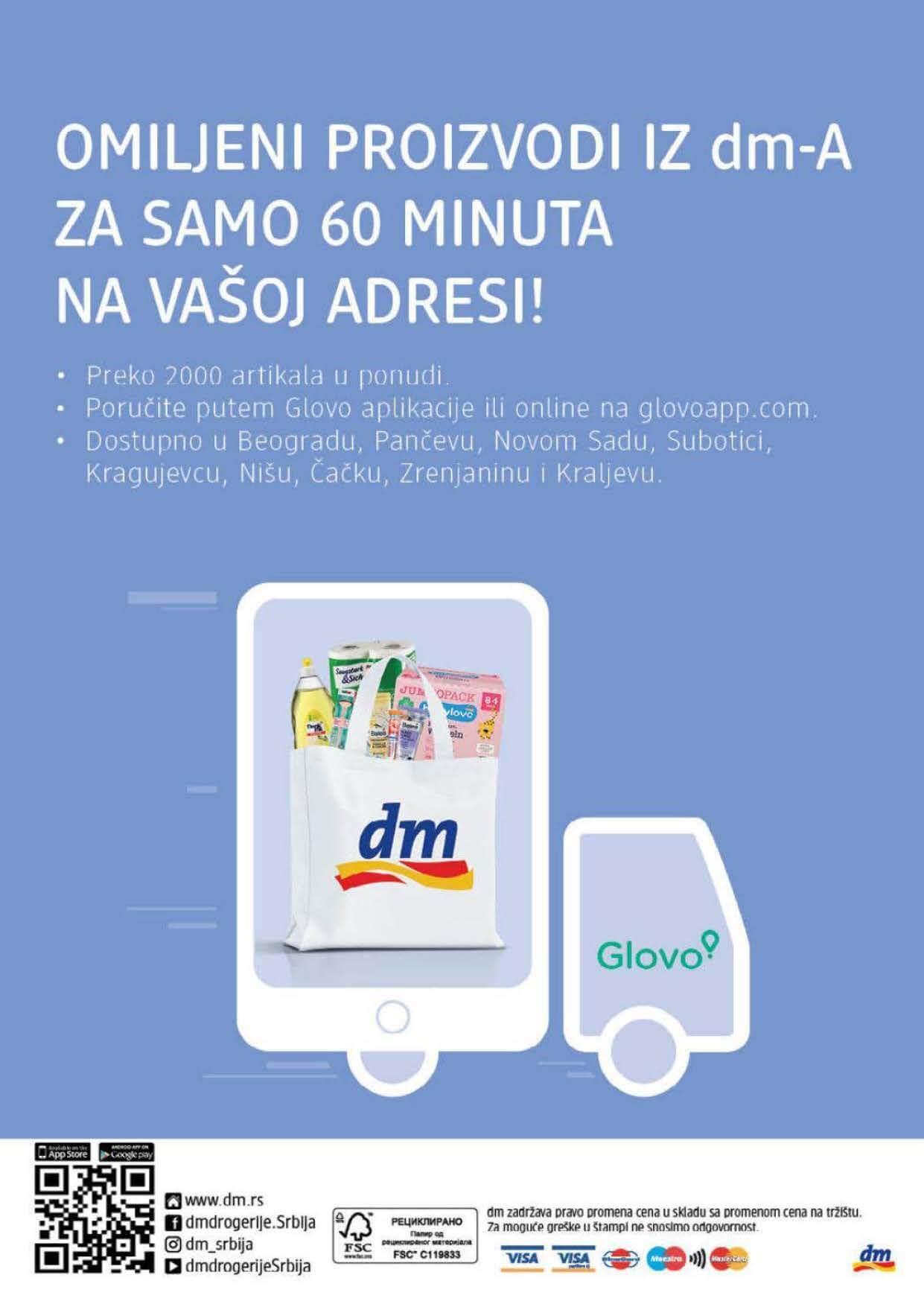 DM Katalog Srbija SEPTEMBAR 2021 1.9.2021. 30.9.2021. Page 40
