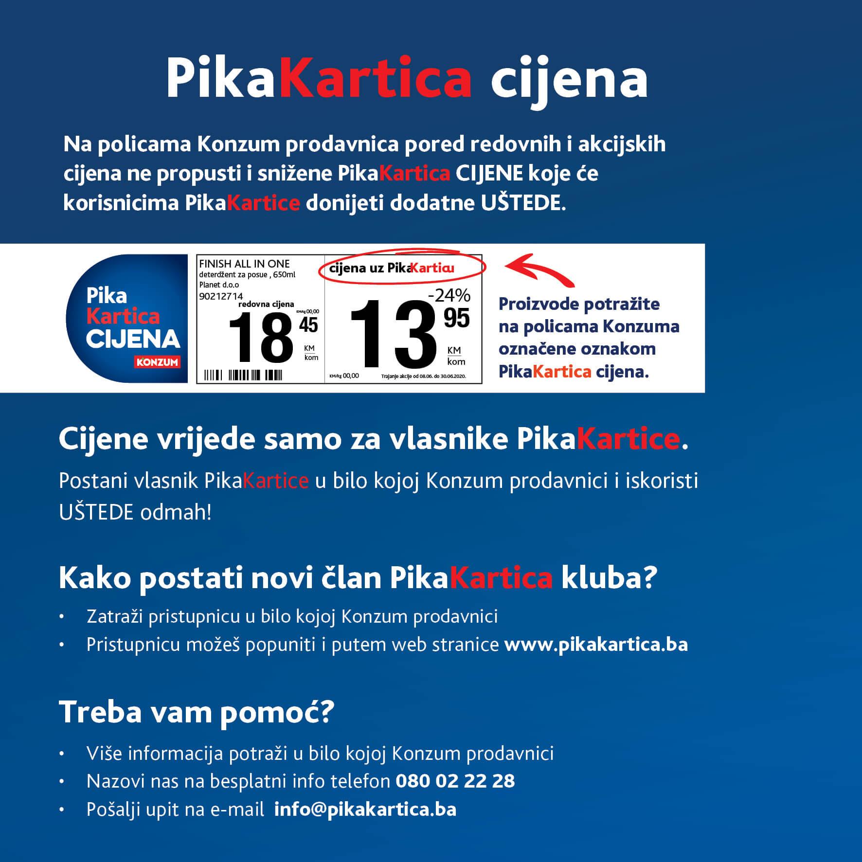 KONZUM PIKA Katalog Ustedi uz PIKA Karticu AVGUST 2021 1.8. 31.8. Page 04