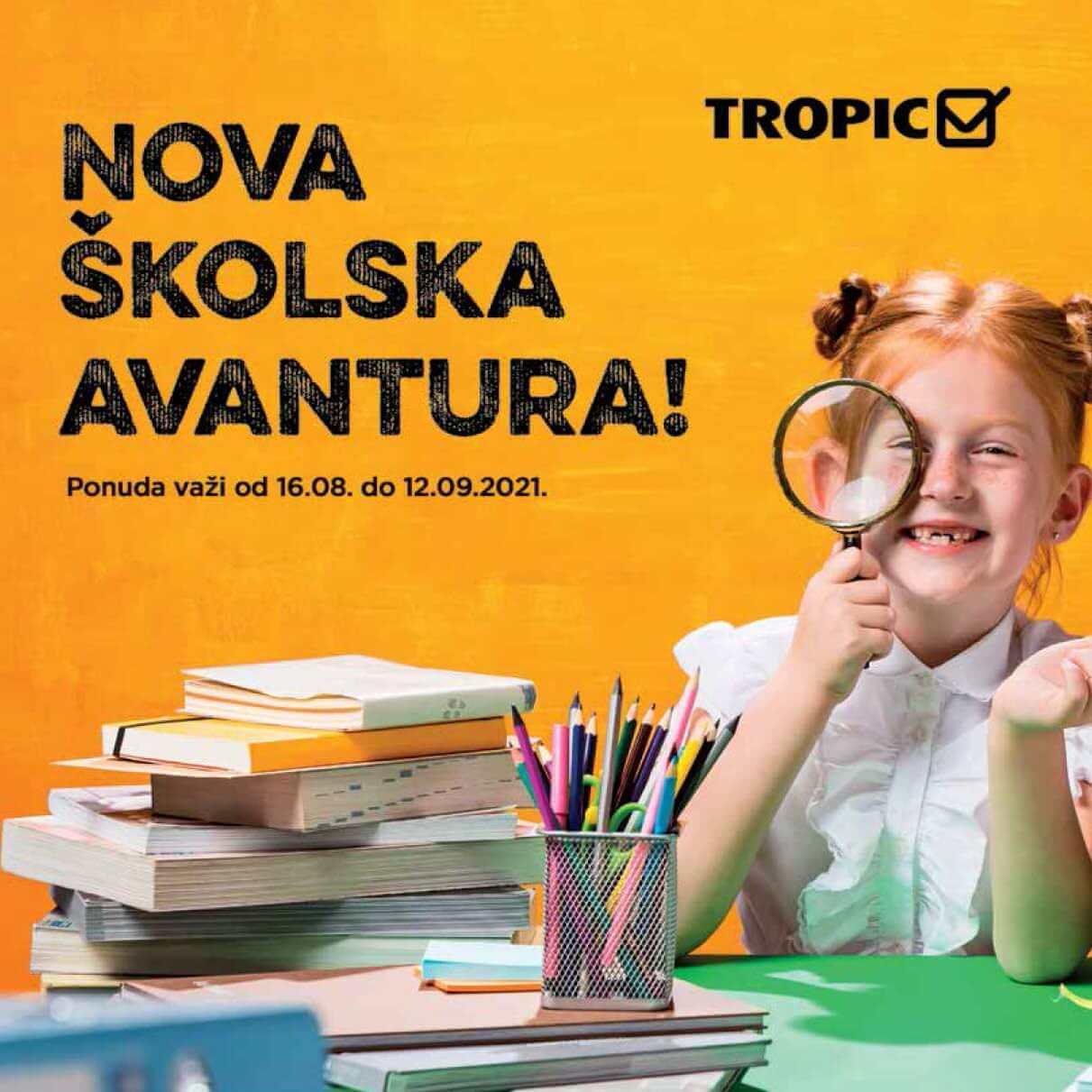 TROPIC Nova skolska avantura 16.8.2021. 12.9.2021. Page 01