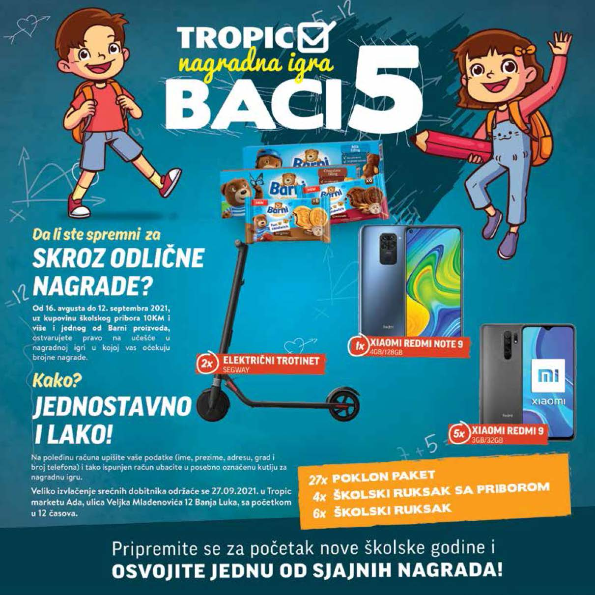 TROPIC Nova skolska avantura 16.8.2021. 12.9.2021. Page 12