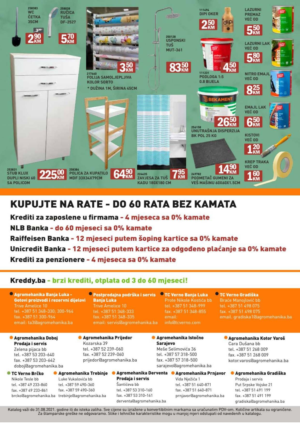 VERNO AGROMEHANIKA Akcijski katalog AVGUST 2021 1.8. 31.8.2021. Page 16