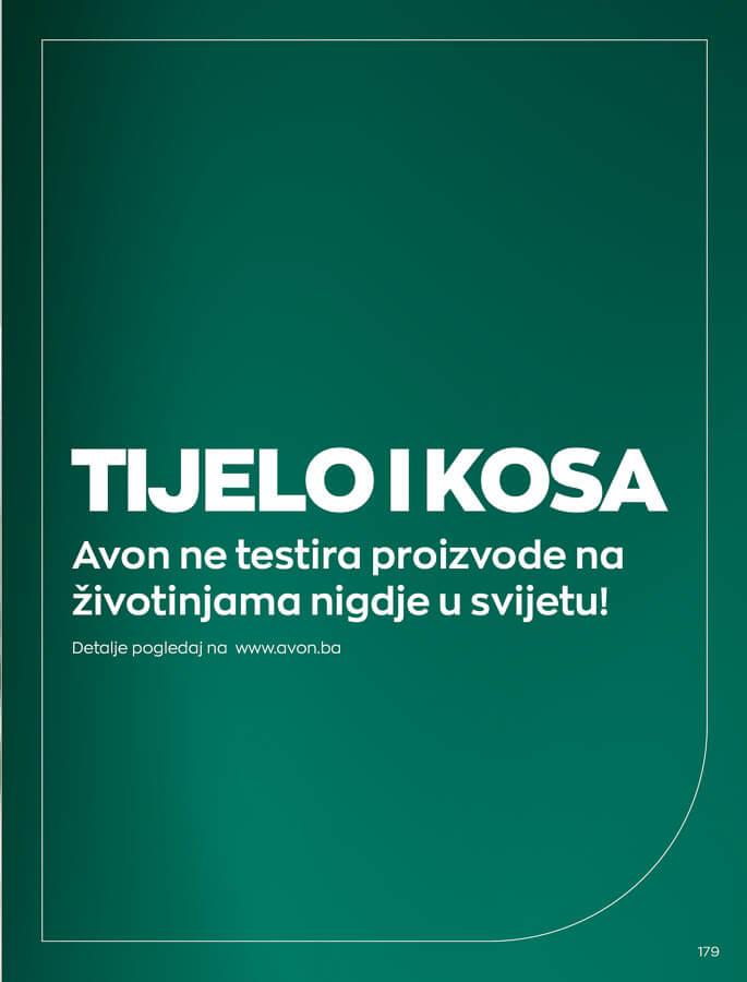 AVON Katalog i Brosura BiH SEPTEMBAR 2021 1.9.2021. 30.9.2021 179