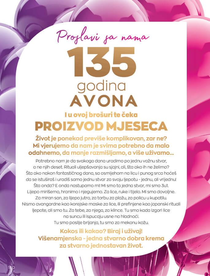AVON Katalog i Brosura BiH SEPTEMBAR 2021 1.9.2021. 30.9.2021 180