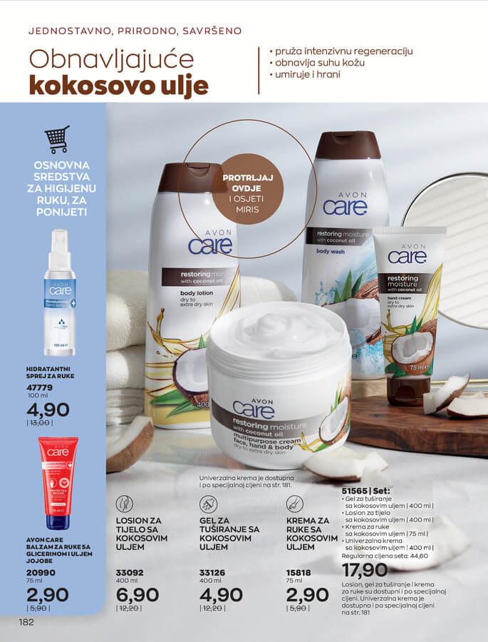 AVON Katalog i Brosura BiH SEPTEMBAR 2021 1.9.2021. 30.9.2021 182
