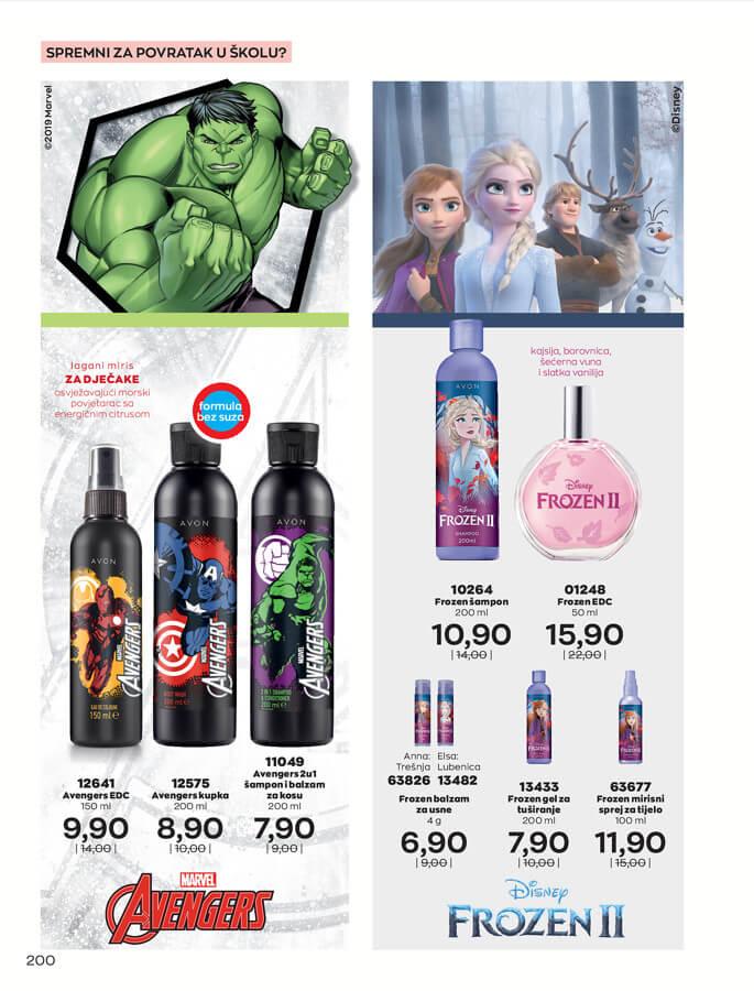 AVON Katalog i Brosura BiH SEPTEMBAR 2021 1.9.2021. 30.9.2021 200