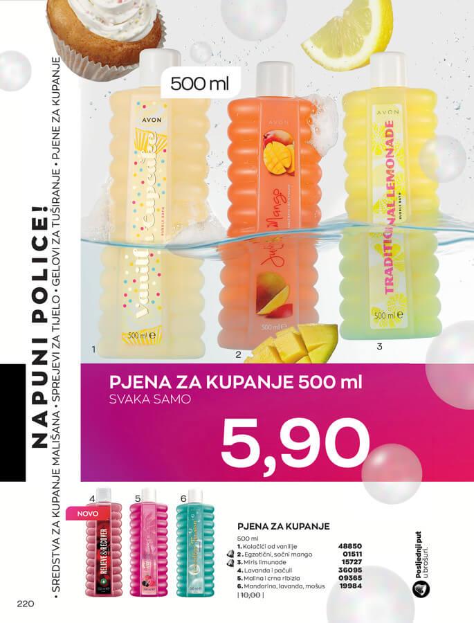AVON Katalog i Brosura BiH SEPTEMBAR 2021 1.9.2021. 30.9.2021 220