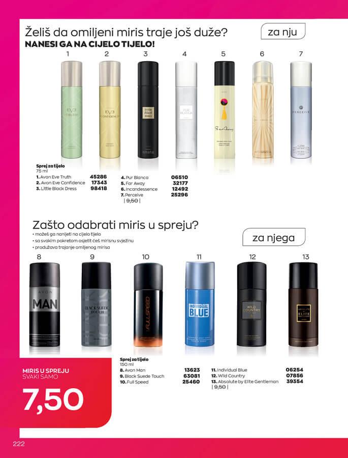 AVON Katalog i Brosura BiH SEPTEMBAR 2021 1.9.2021. 30.9.2021 222