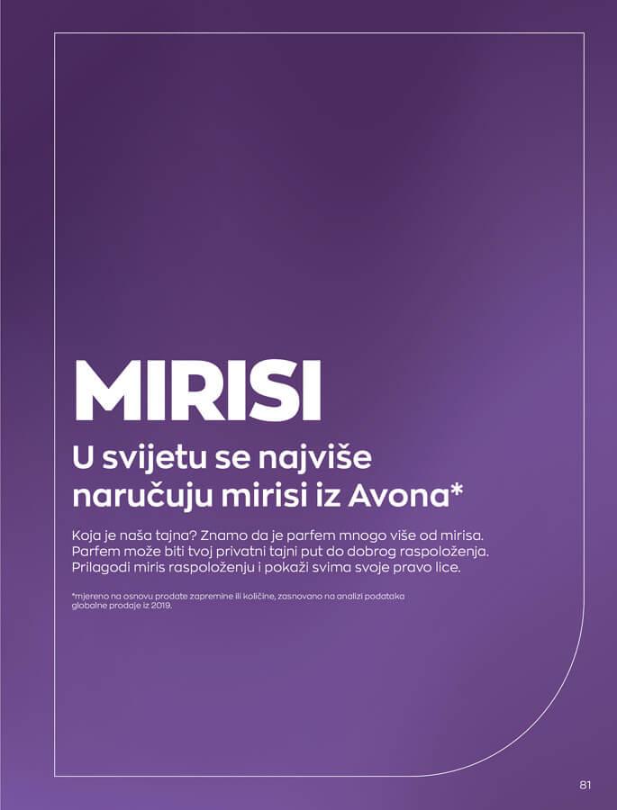 AVON Katalog i Brosura BiH SEPTEMBAR 2021 1.9.2021. 30.9.2021 81