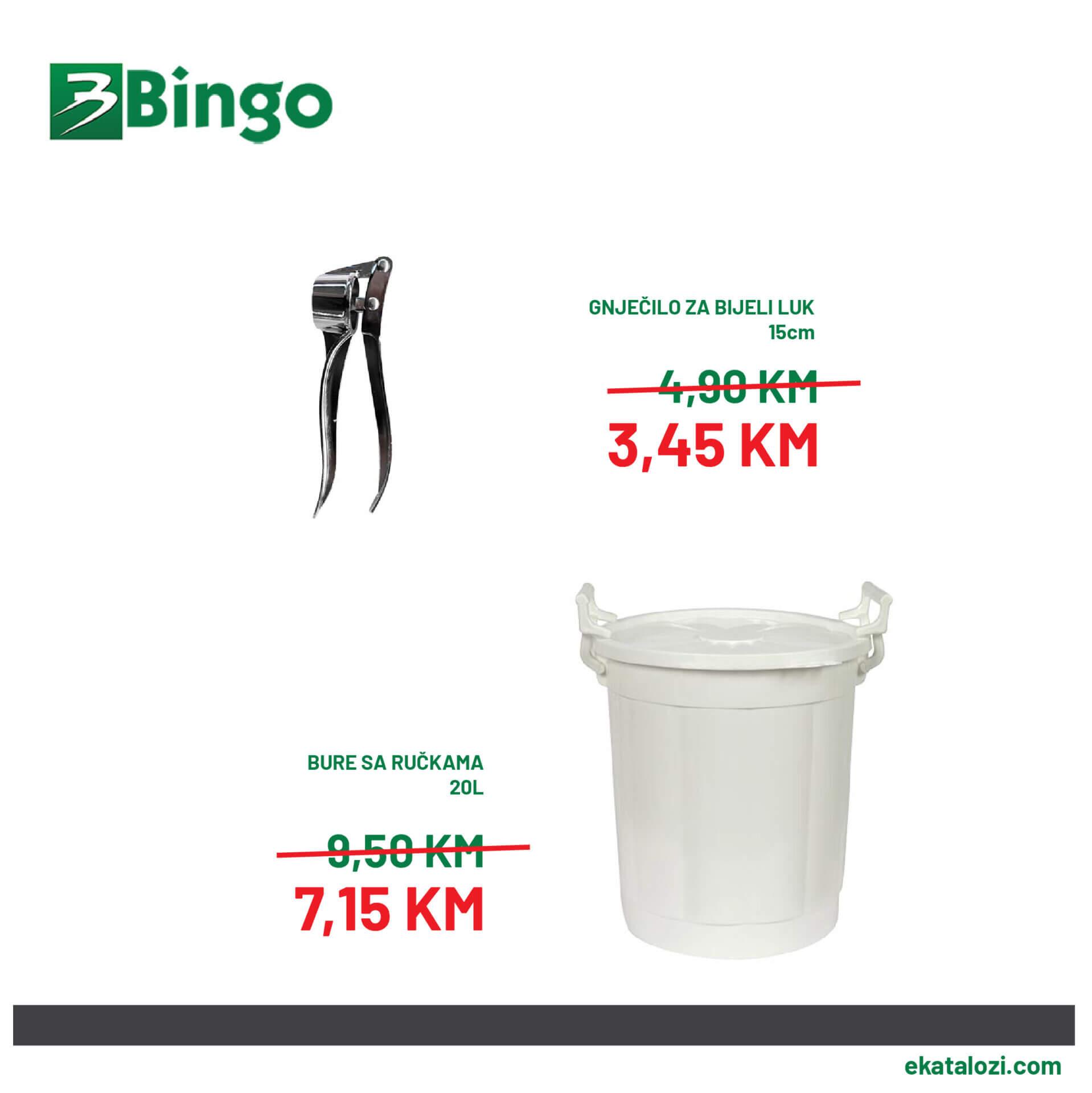 BINGO Akcija SEPTEMBAR 2021 12.9.2021. 14.9.2021 2