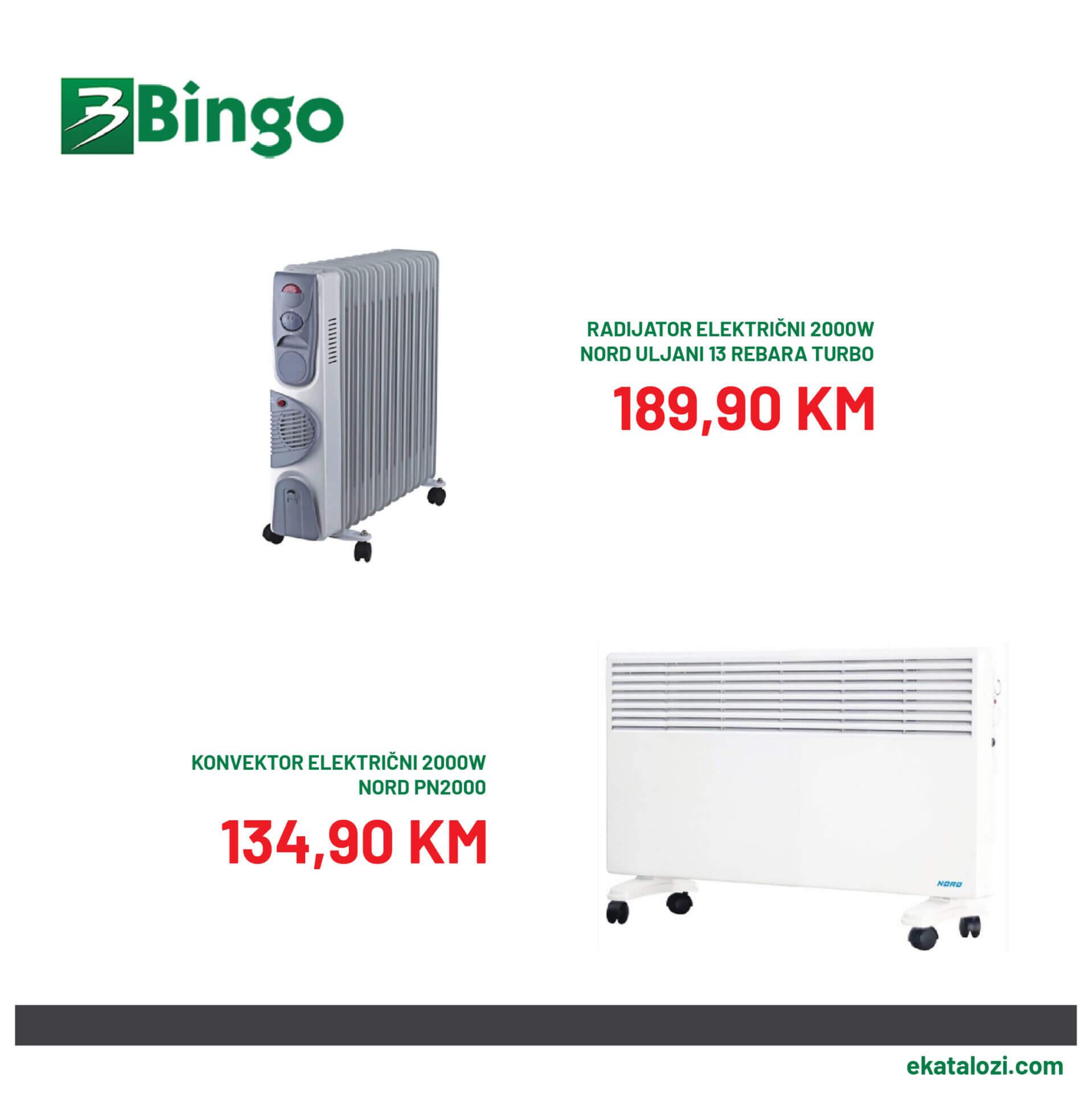 BINGO SUPER akcija SEPTEMBAR 2021 11.9.2021. 14.9 2