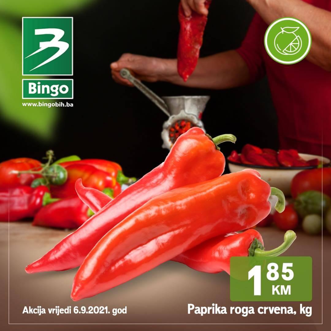 BINGO SUPER akcija SEPTEMBAR 2021 5.9.2021. 8.9.2021 1
